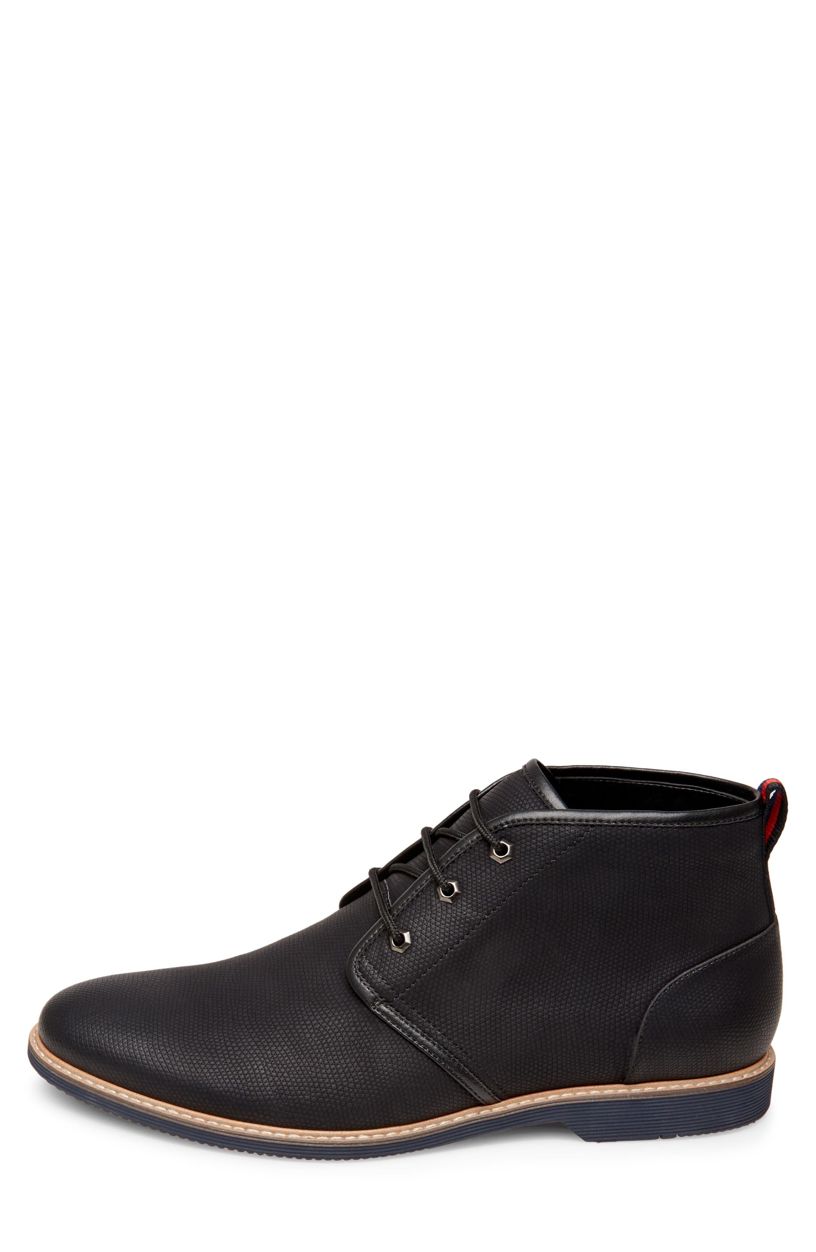Nurture Plain Toe Boot,                             Alternate thumbnail 7, color,                             BLACK