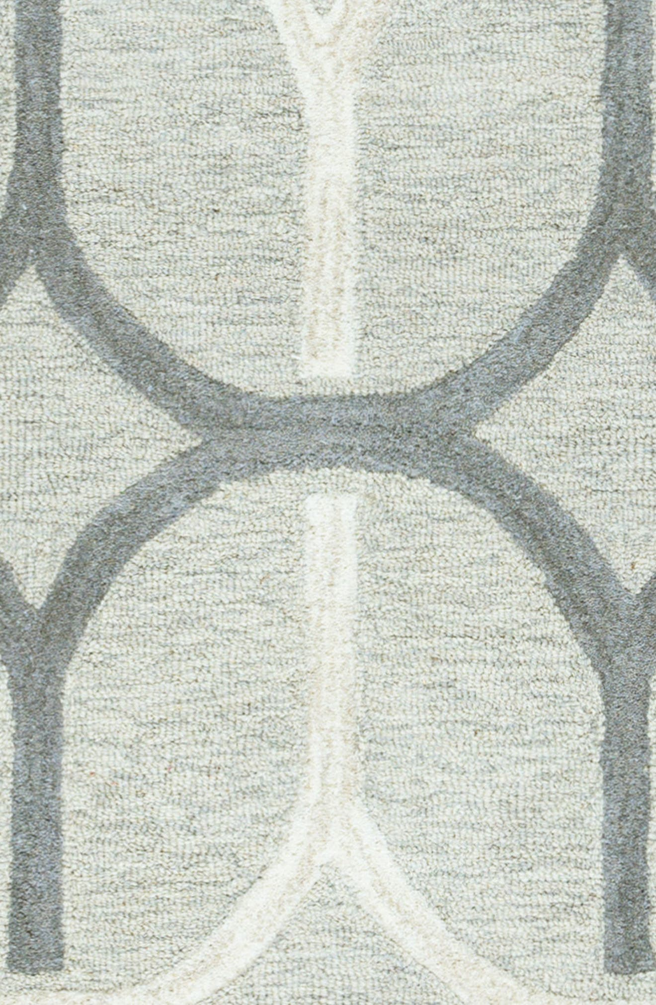 'Caterine Ovals' Hand Tufted Wool Area Rug,                             Alternate thumbnail 5, color,                             020