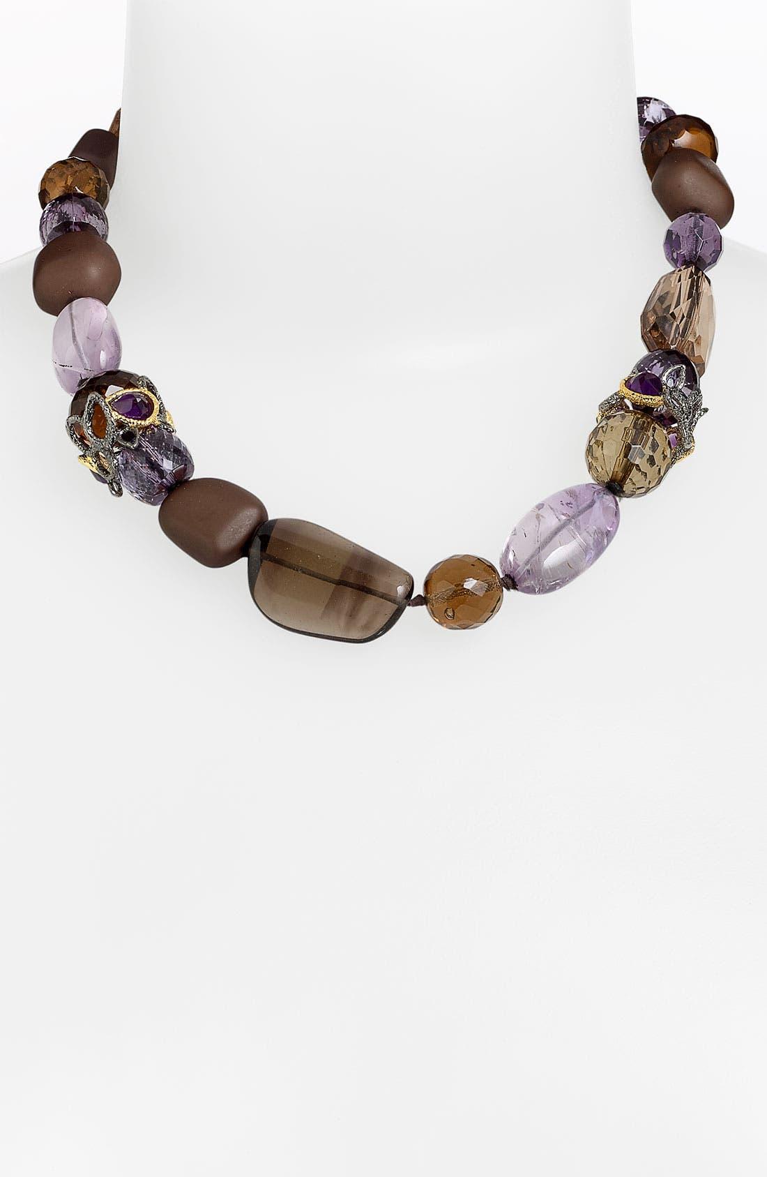 'Elements - Siyabona' Stone Necklace,                             Main thumbnail 4, color,