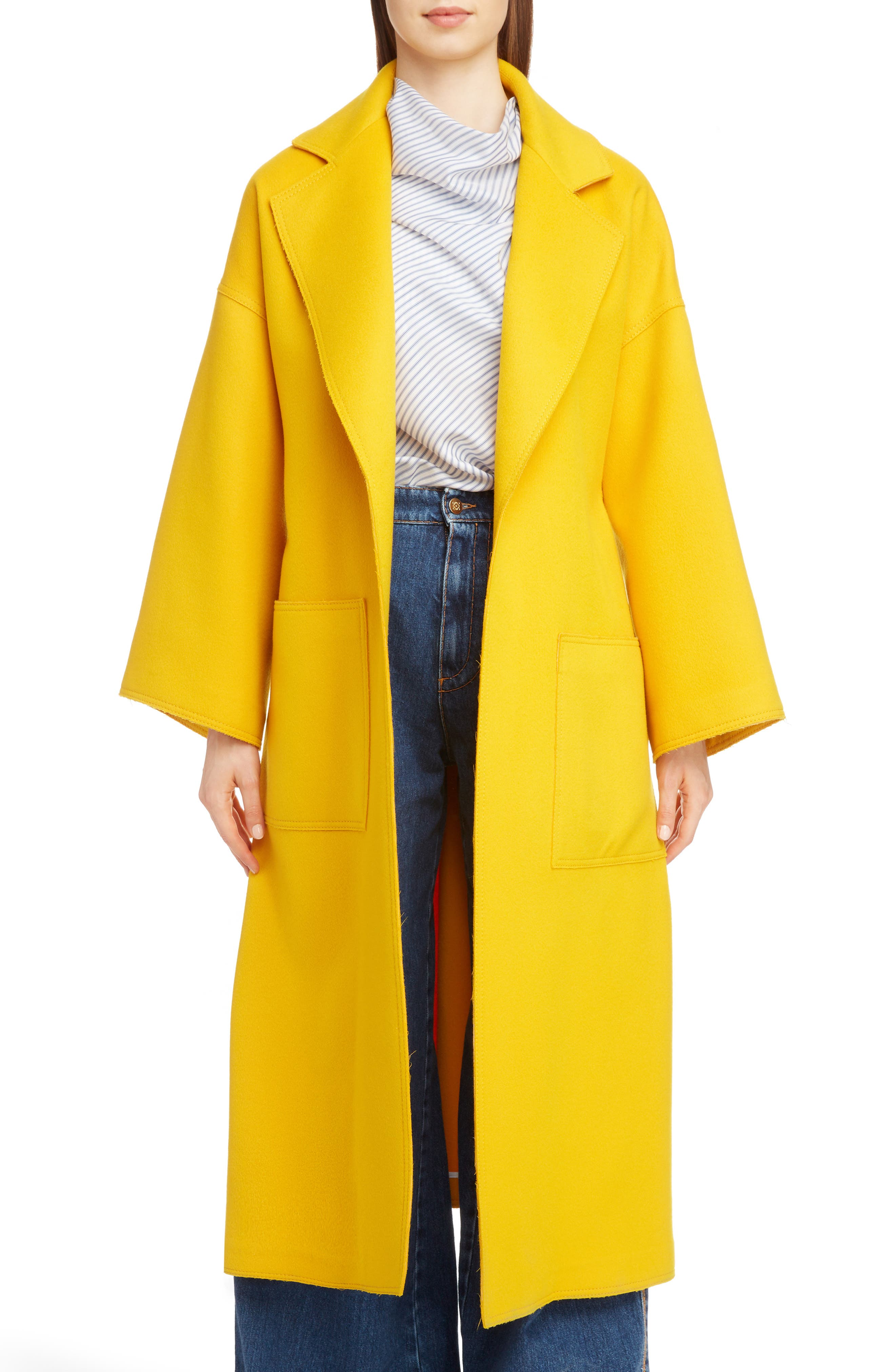 Wool & Cashmere Wrap Coat, Main, color, 700