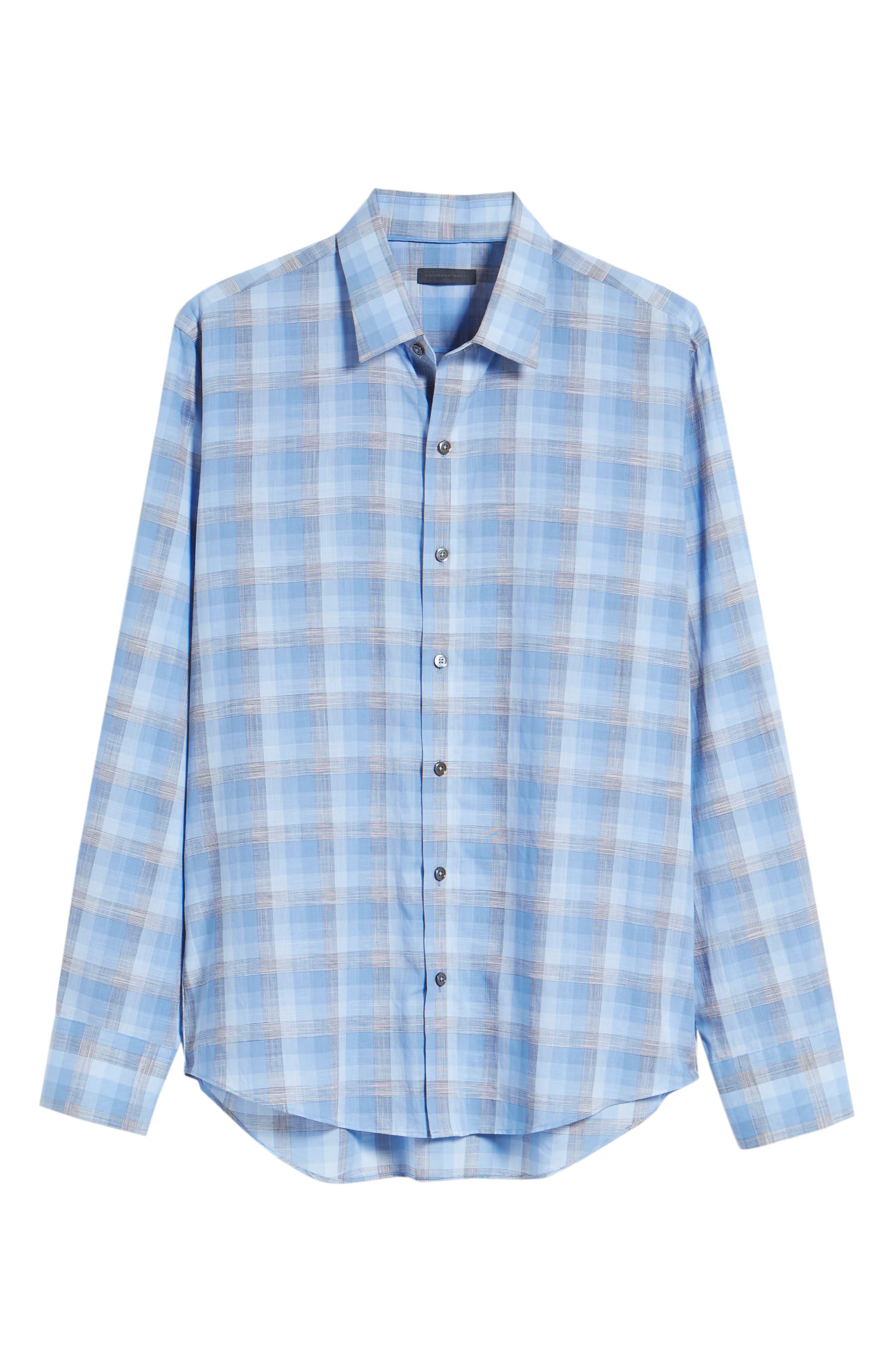 Asim Regular Fit Sport Shirt,                             Alternate thumbnail 6, color,                             422