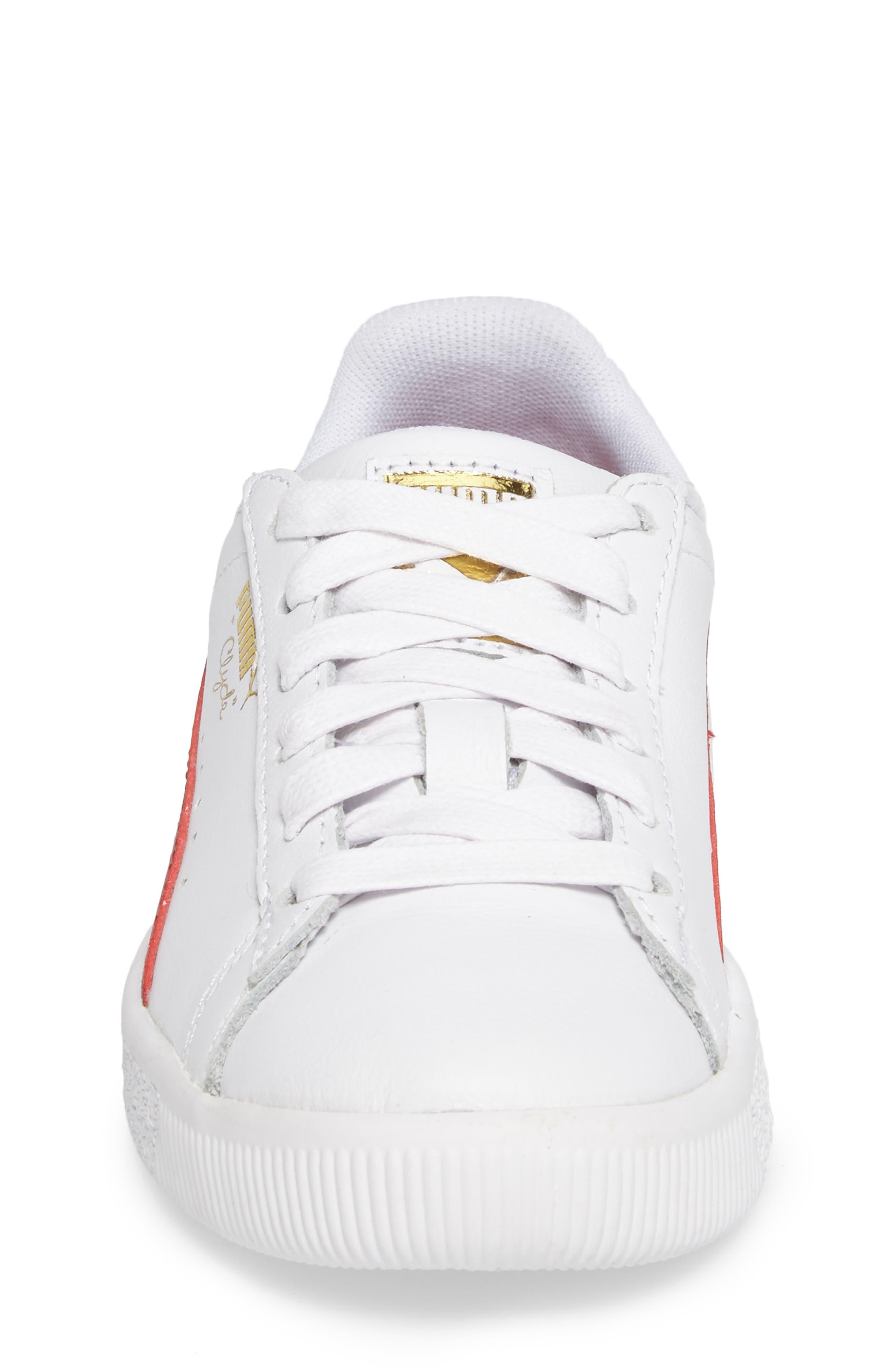 Clyde Core Foil Sneaker,                             Alternate thumbnail 23, color,