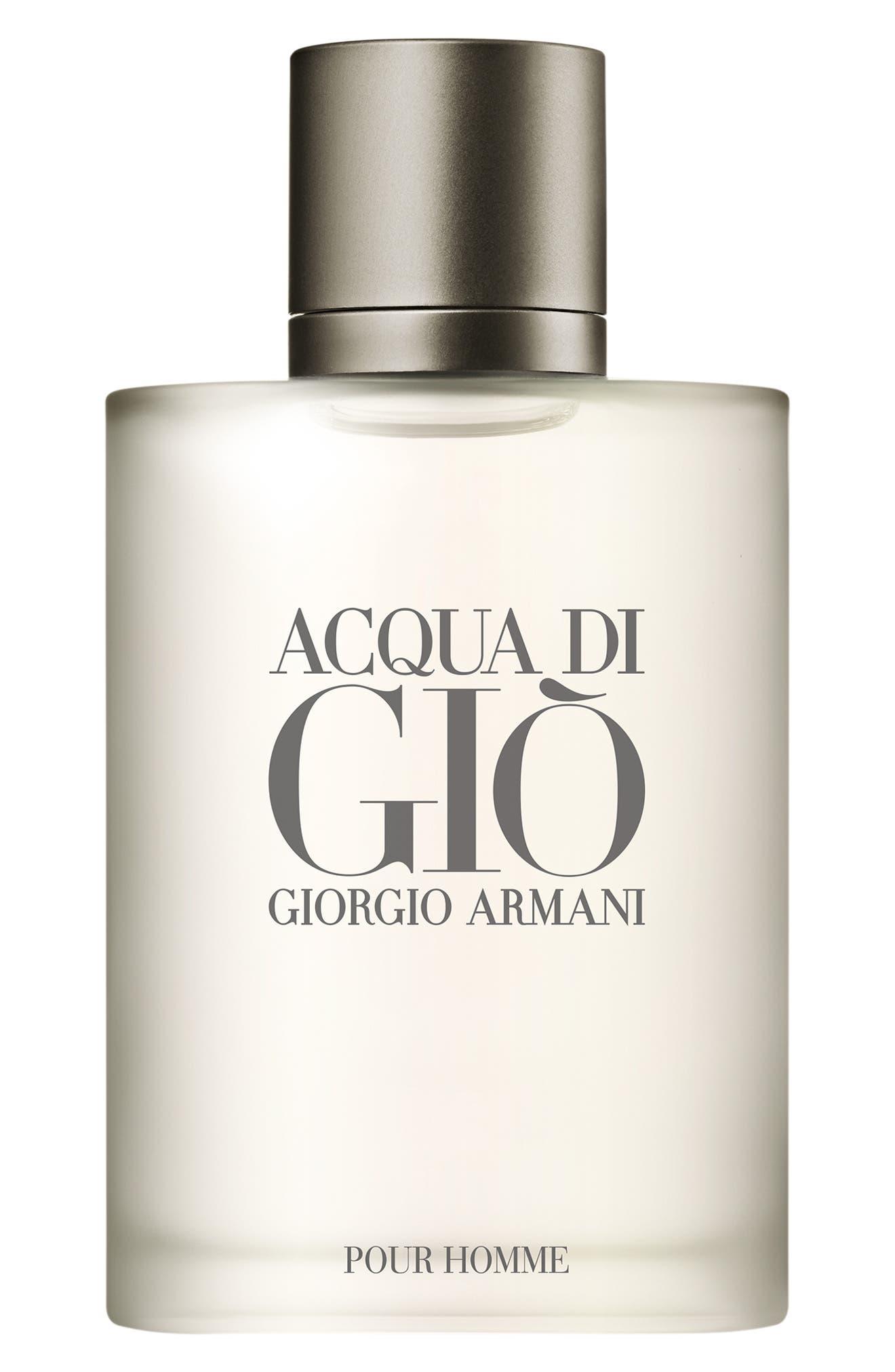 GIORGIO ARMANI,                             Acqua di Giò pour Homme Eau de Toilette,                             Main thumbnail 1, color,                             NO COLOR