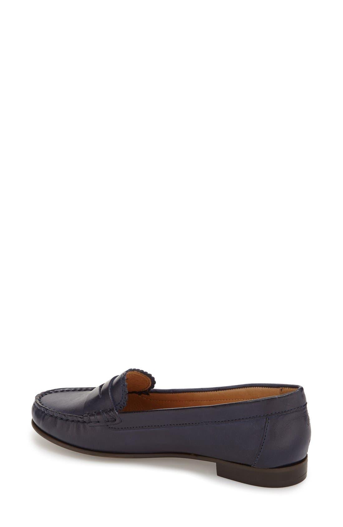'Quinn' Leather Loafer,                             Alternate thumbnail 23, color,