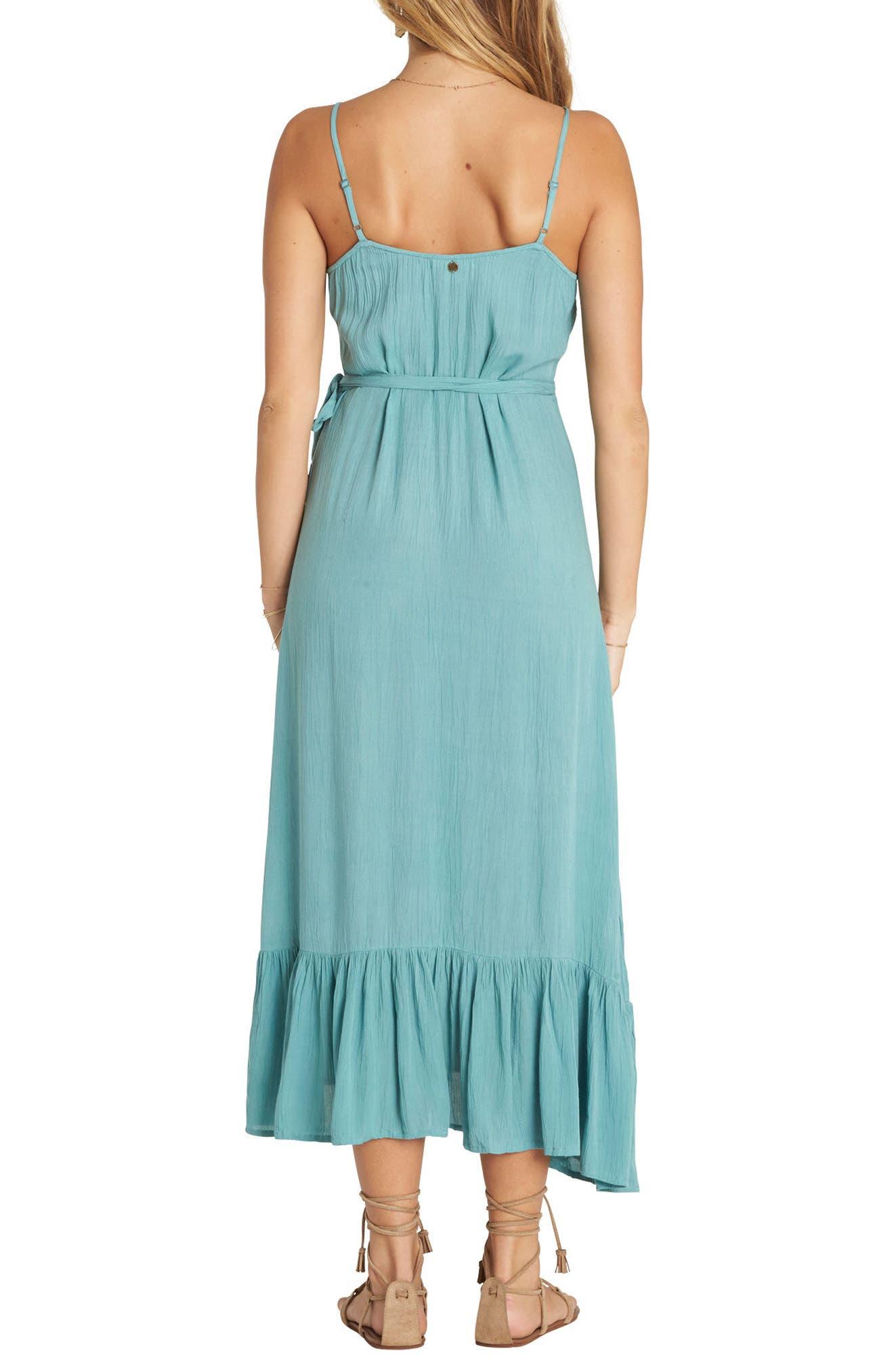 Hold Me Tight Wrap Midi Dress,                             Alternate thumbnail 4, color,