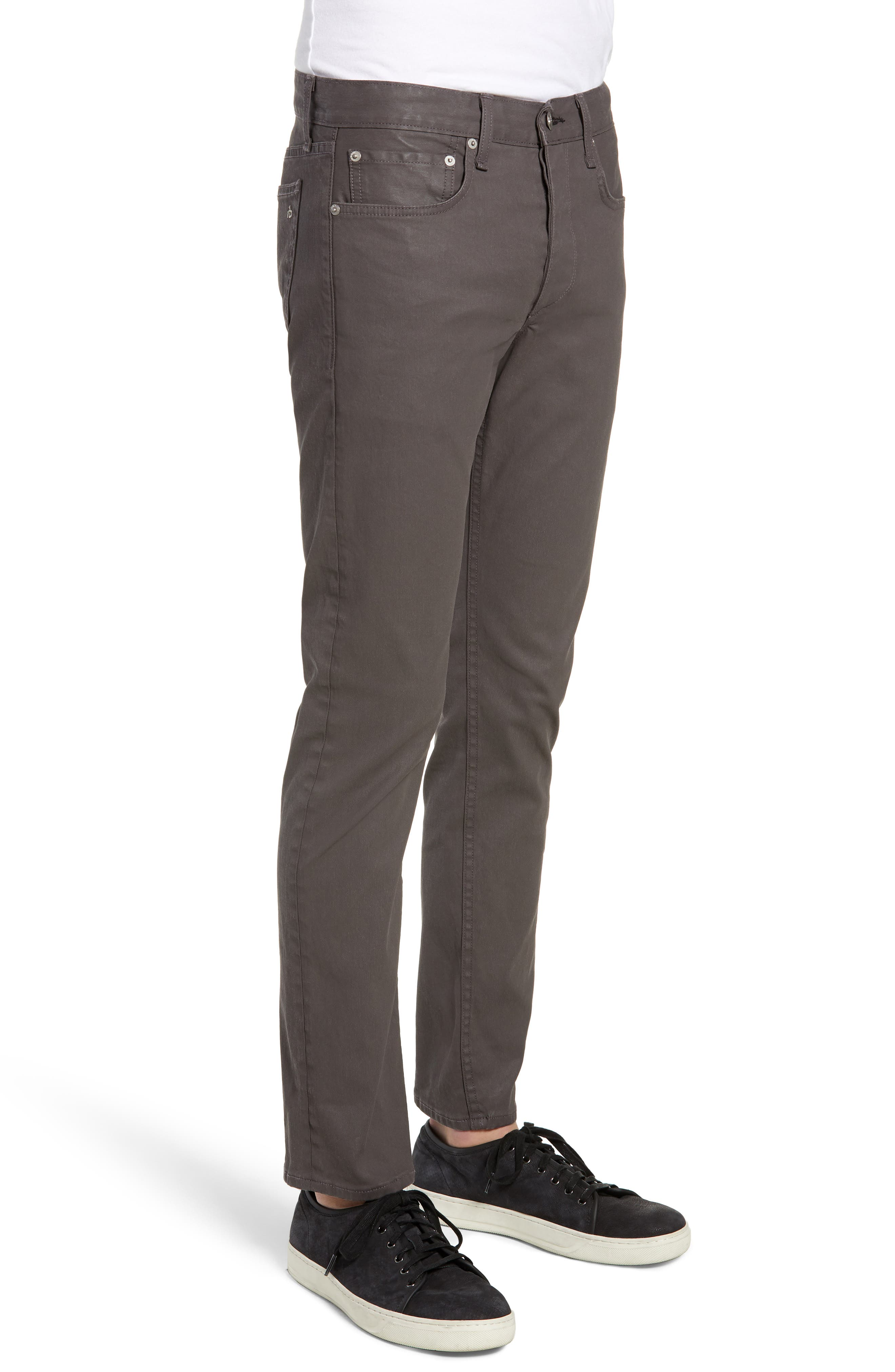 Fit 2 Slim Fit Pants,                             Alternate thumbnail 3, color,                             COATED CLAY