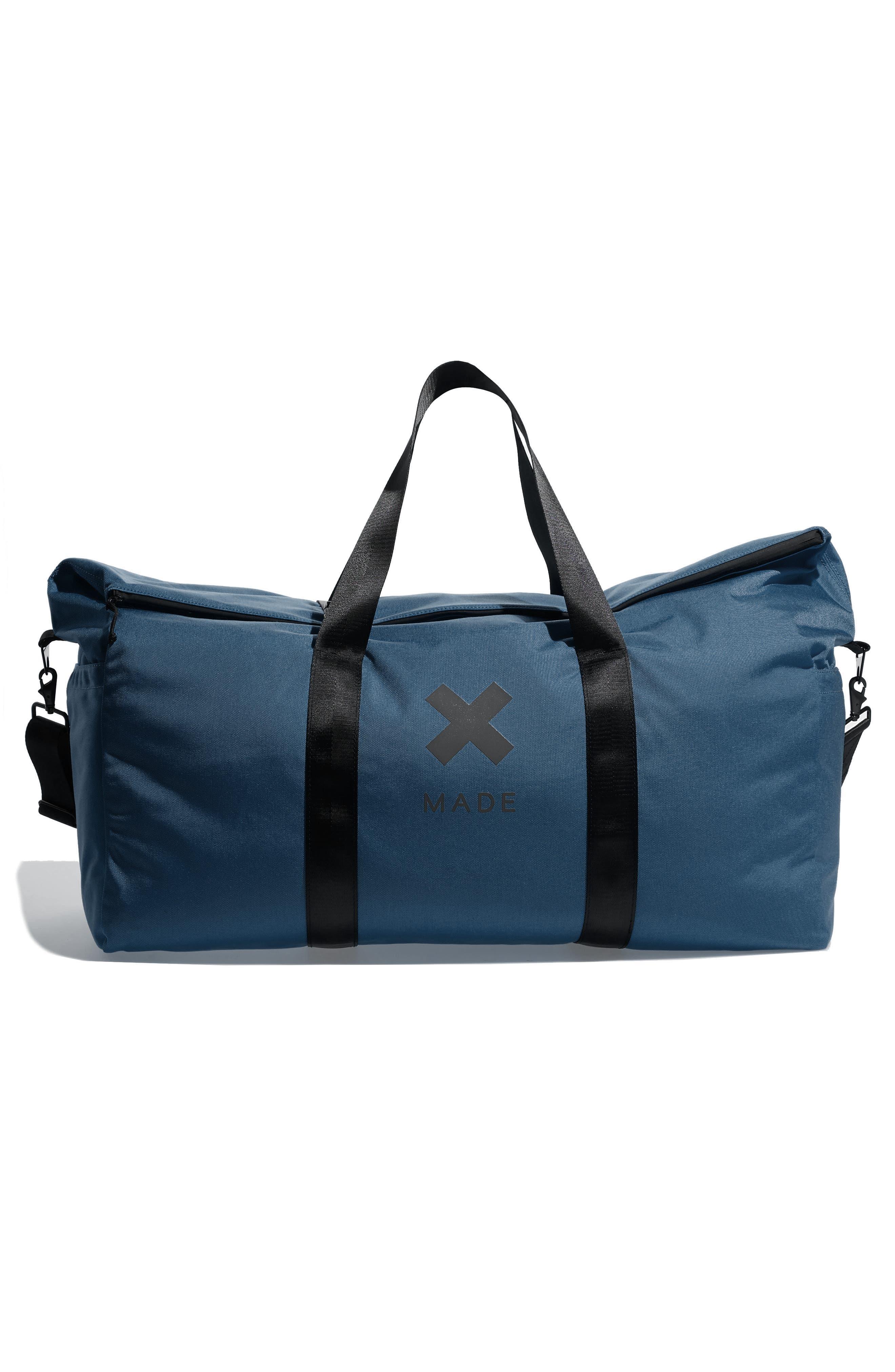 SWS 100L Roll Top Duffel Bag,                         Main,                         color, NAVY