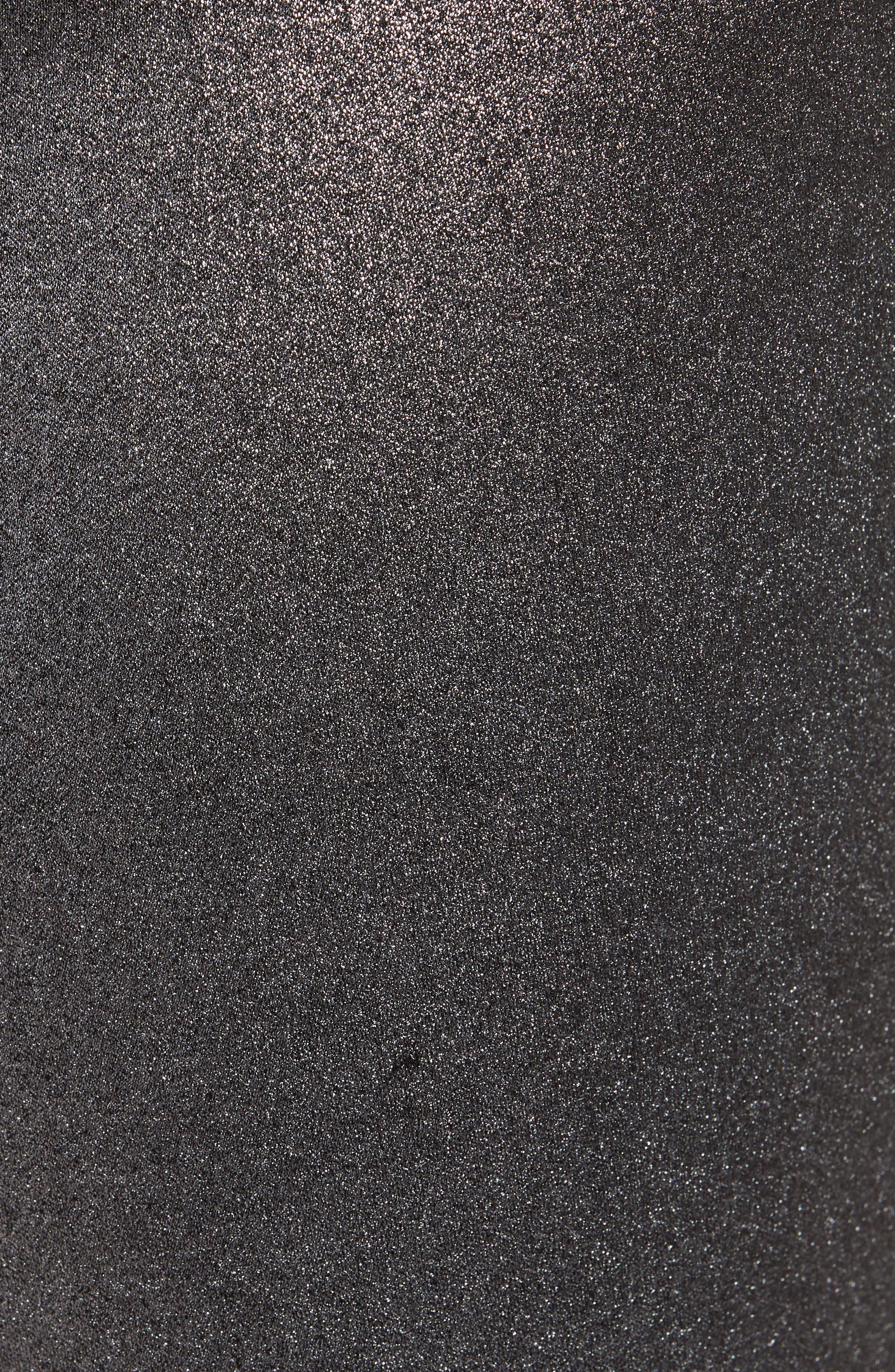 Metallic Coated Skinny Jeans,                             Alternate thumbnail 6, color,                             001