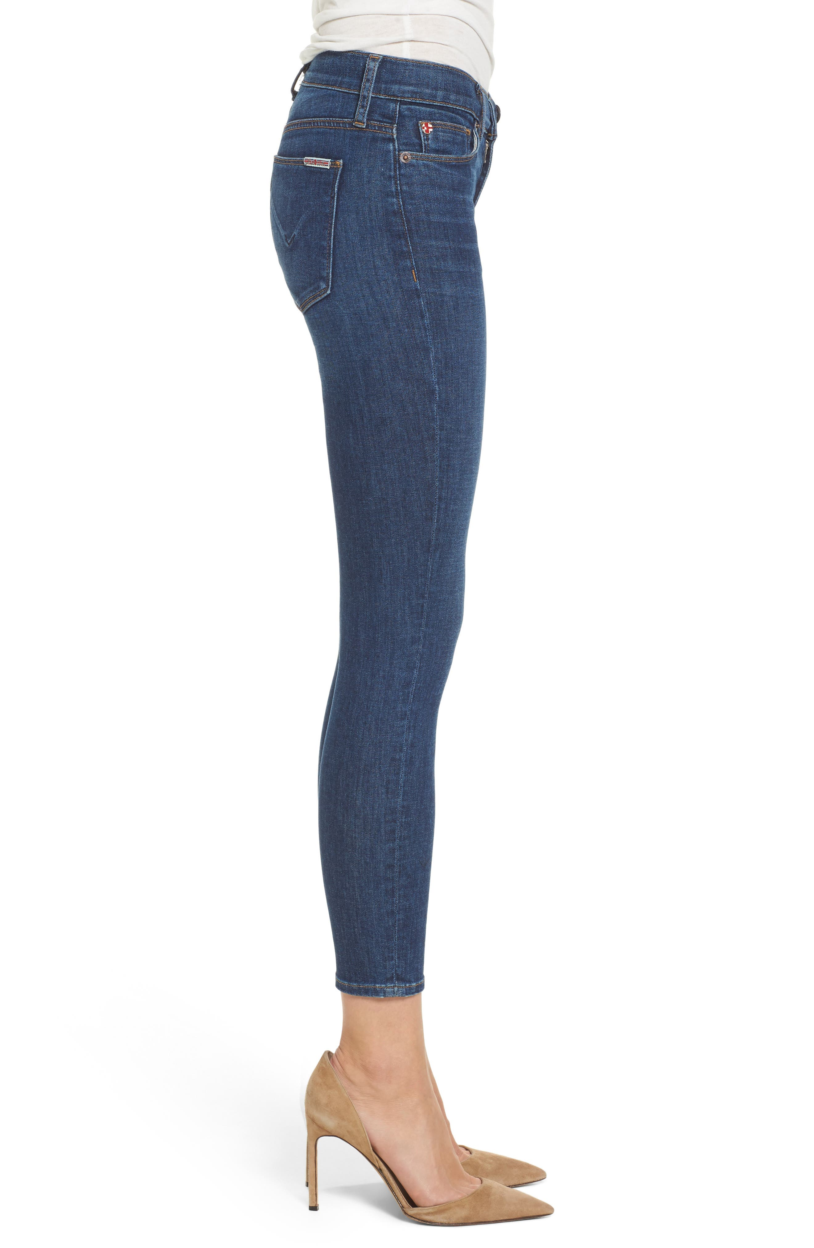 Krista Ankle Super Skinny Jeans,                             Alternate thumbnail 3, color,                             420