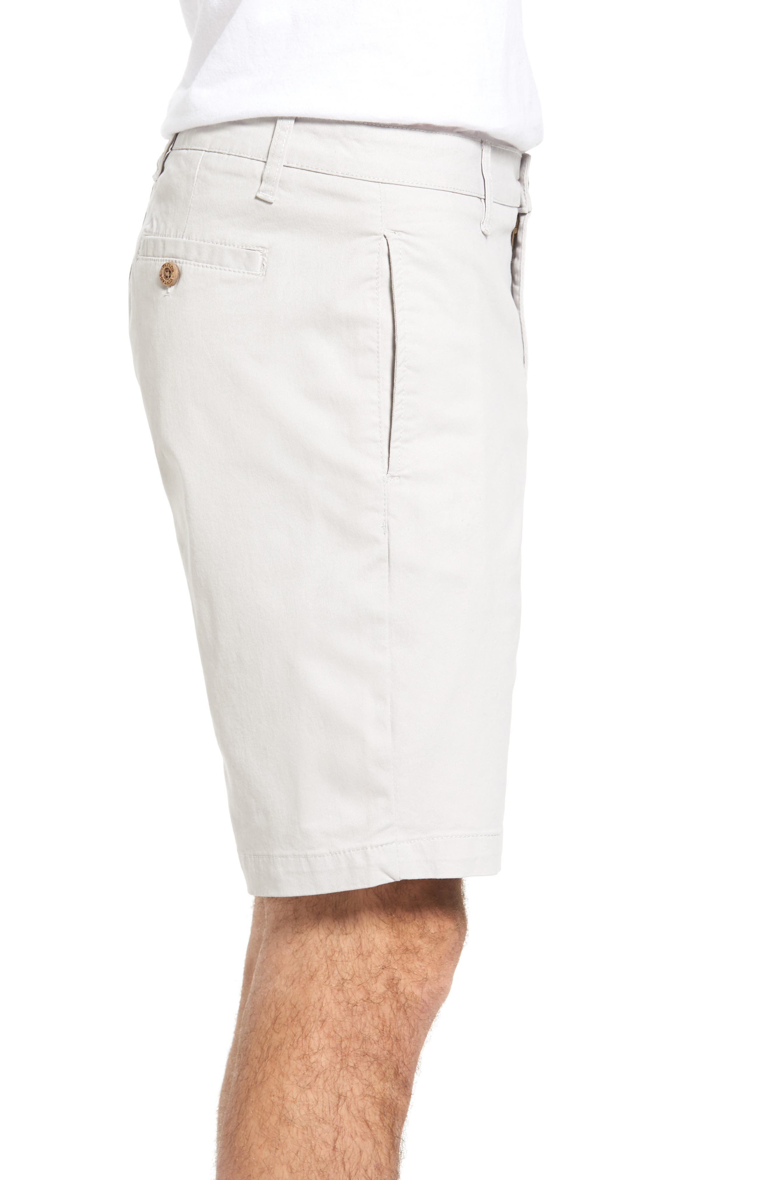 Stretch Twill Walking Shorts,                             Alternate thumbnail 3, color,                             050