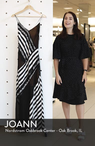 Illusion Stripe Gown, sales video thumbnail