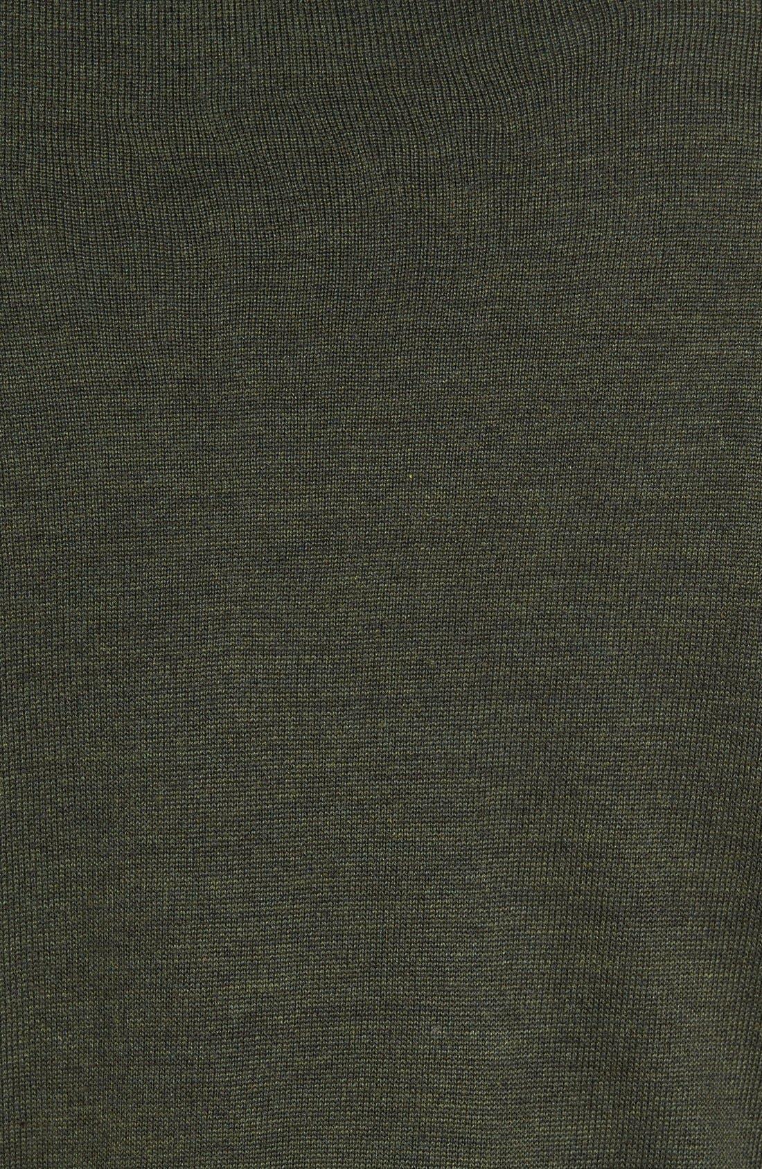 Douglas Quarter Zip Wool Blend Sweater,                             Alternate thumbnail 27, color,