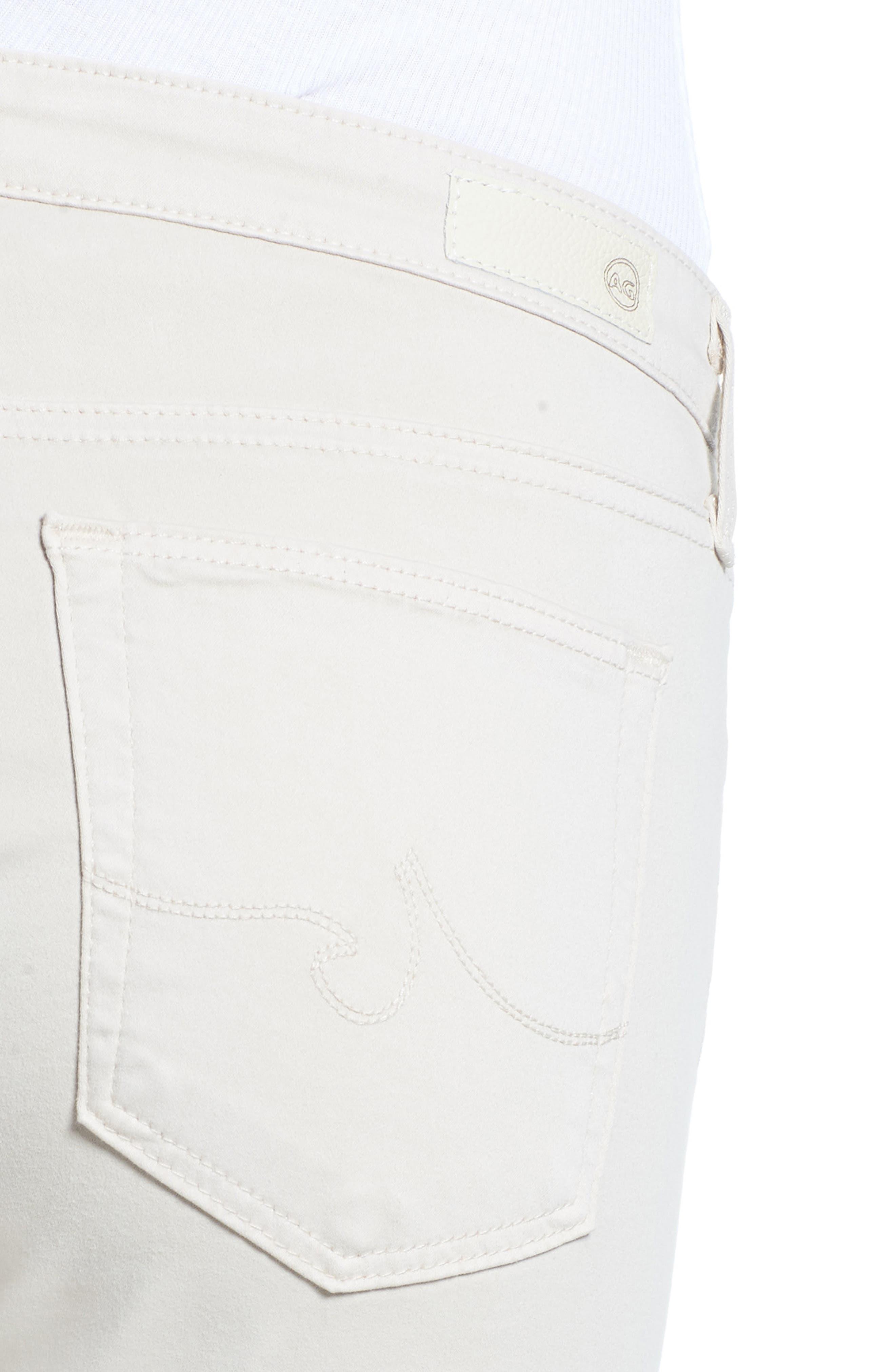The Prima Crop Cigarette Jeans,                             Alternate thumbnail 4, color,                             MINERAL VEIL