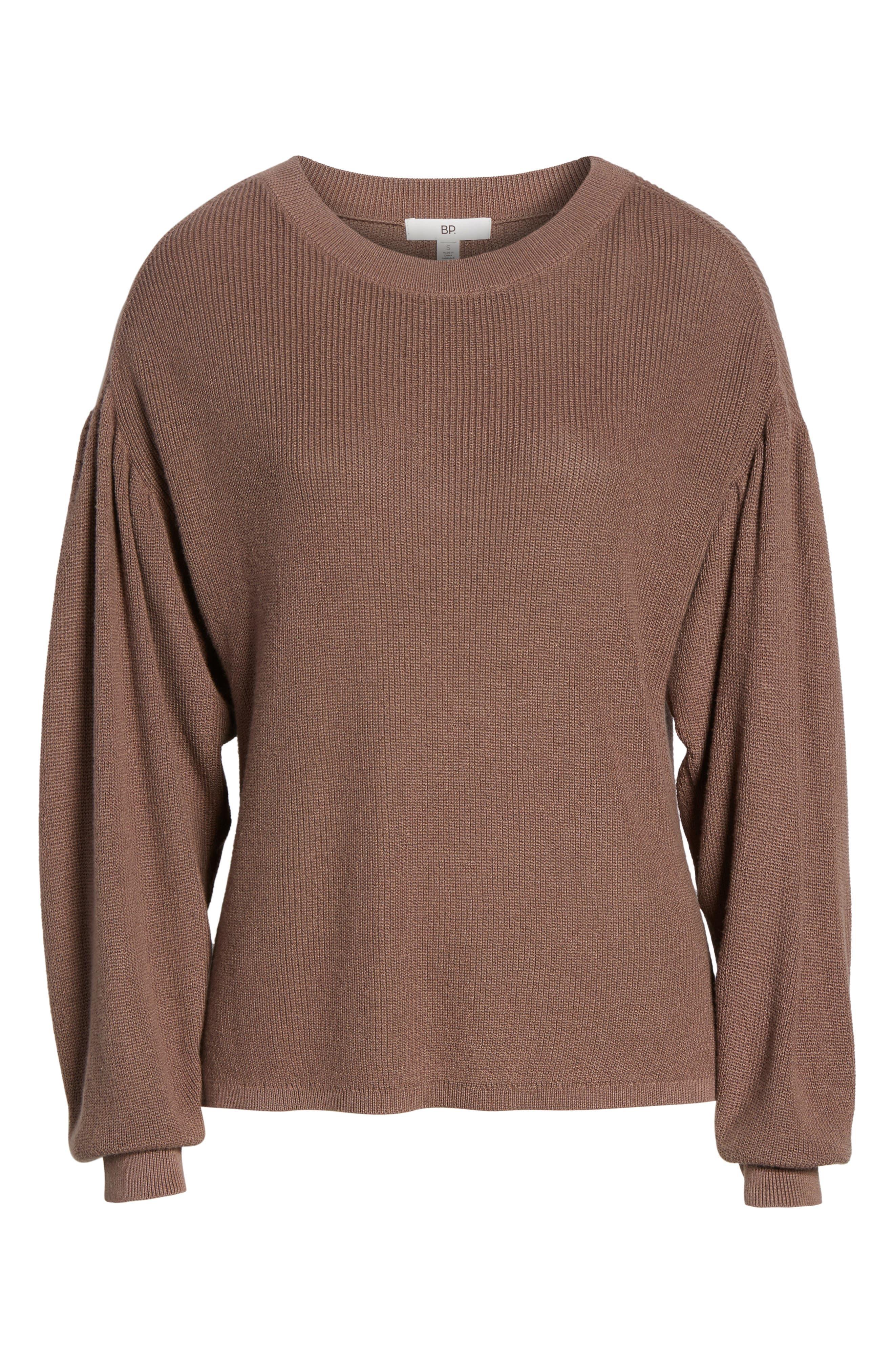 Drape Sleeve Sweater,                             Alternate thumbnail 6, color,                             230
