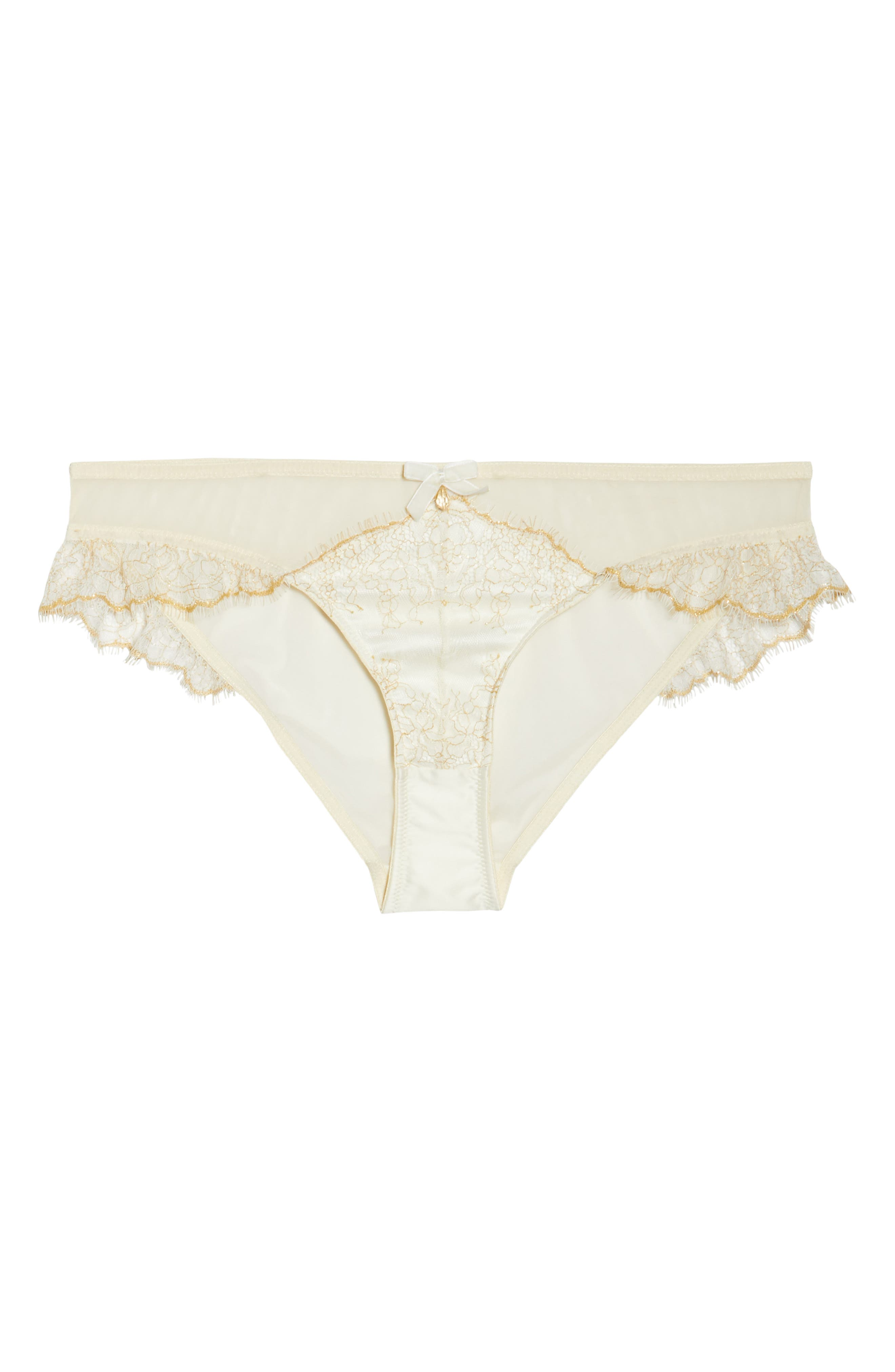 Karine Lace Panties,                             Alternate thumbnail 6, color,                             900