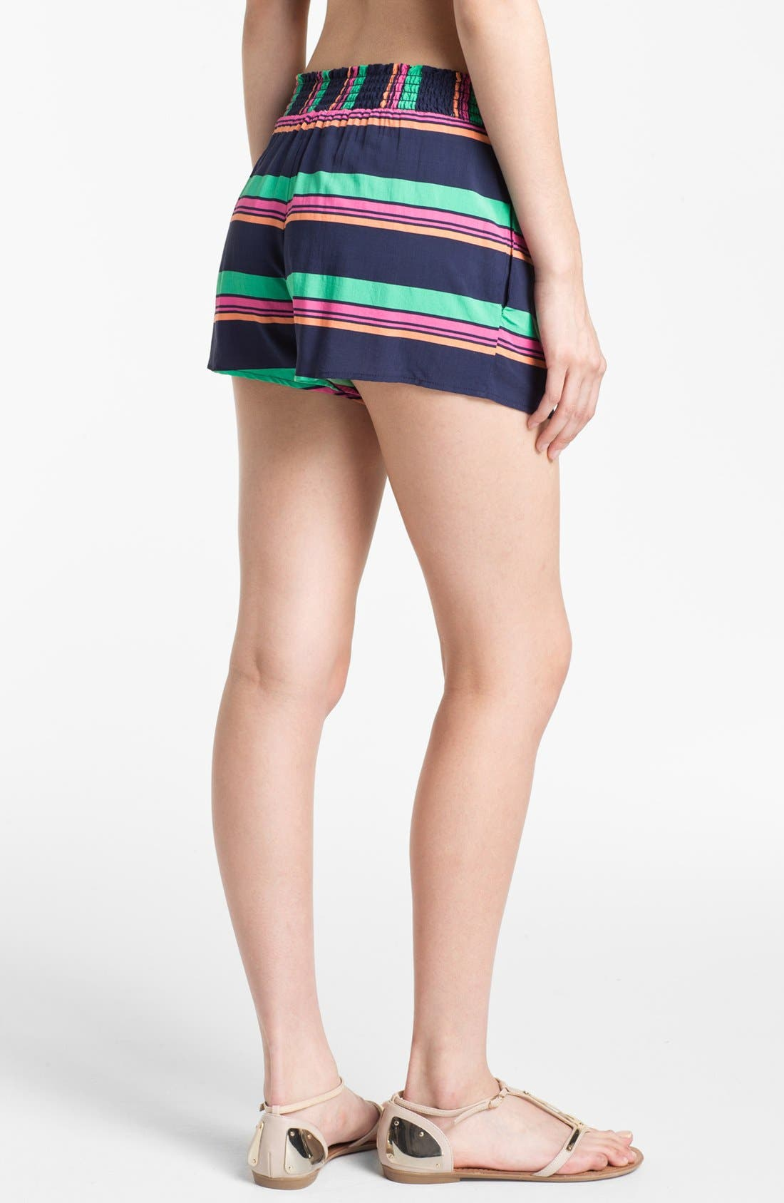 SPLENDID,                             Stripe Shorts,                             Alternate thumbnail 3, color,                             411