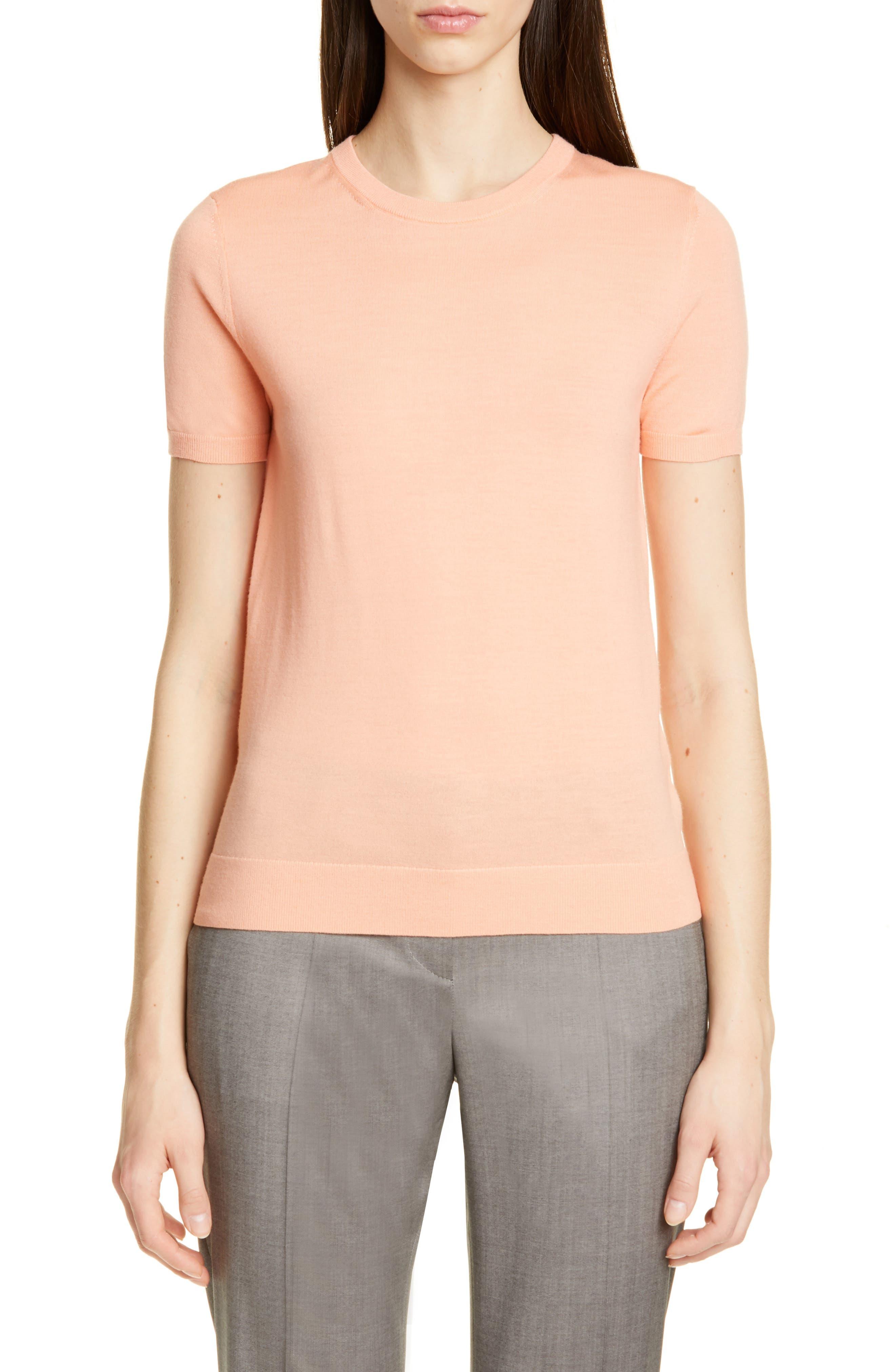 Boss Falyssa Merino Wool Knit Sweater, Orange