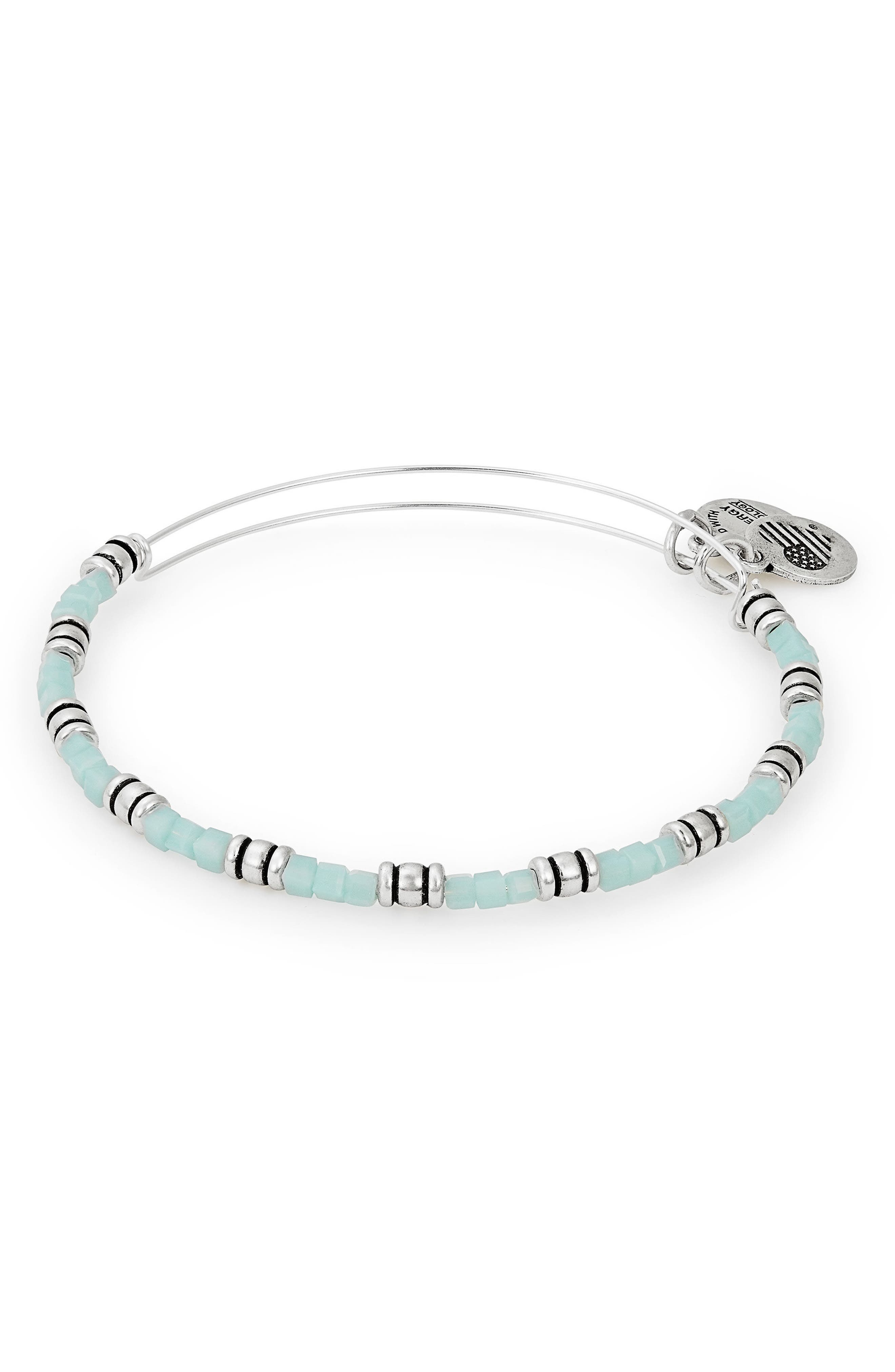 Coastal Ocean Expandable Beaded Bracelet,                             Main thumbnail 1, color,                             040