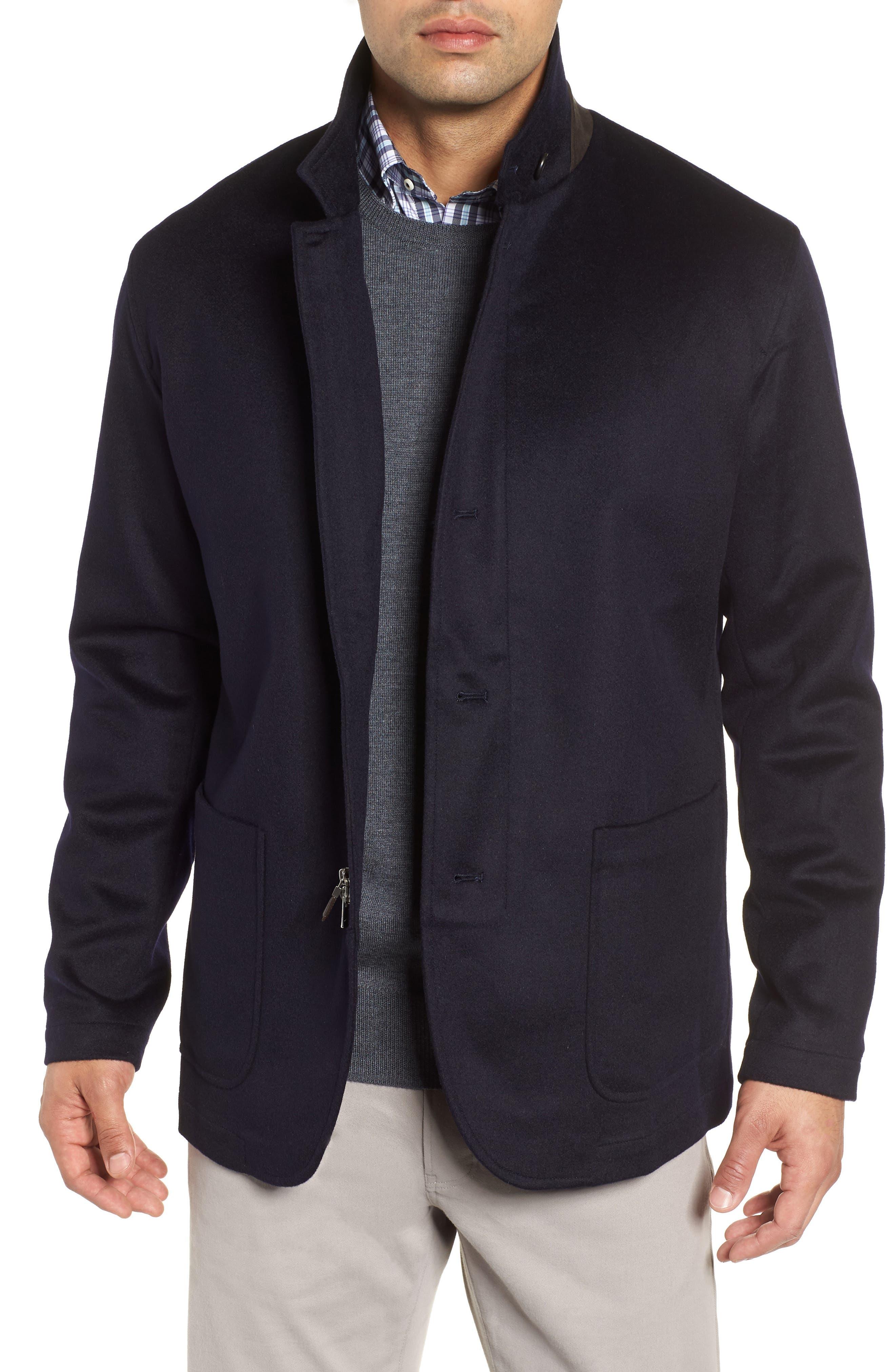 Wade Crown Fleece Jacket,                         Main,                         color, ARCTIC NIGHT