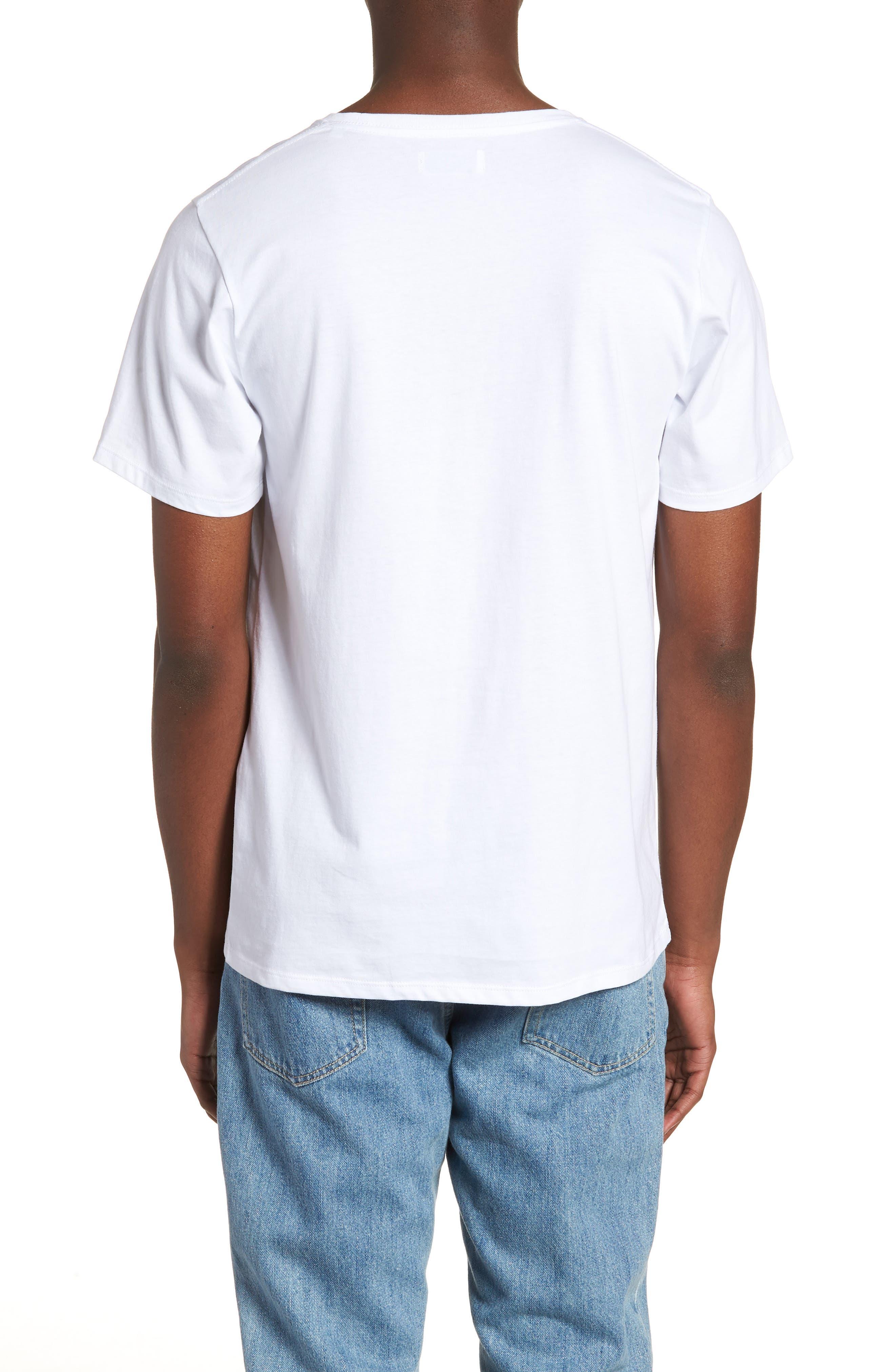Floater Fill T-Shirt,                             Alternate thumbnail 2, color,                             WHITE