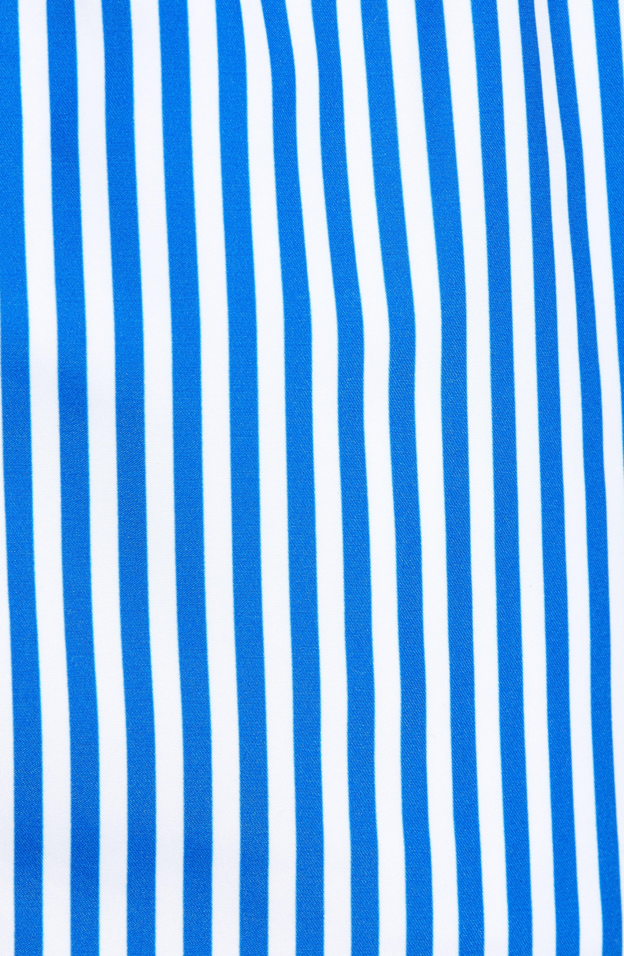 Deck Stripes Swim Trunks,                             Alternate thumbnail 5, color,                             400