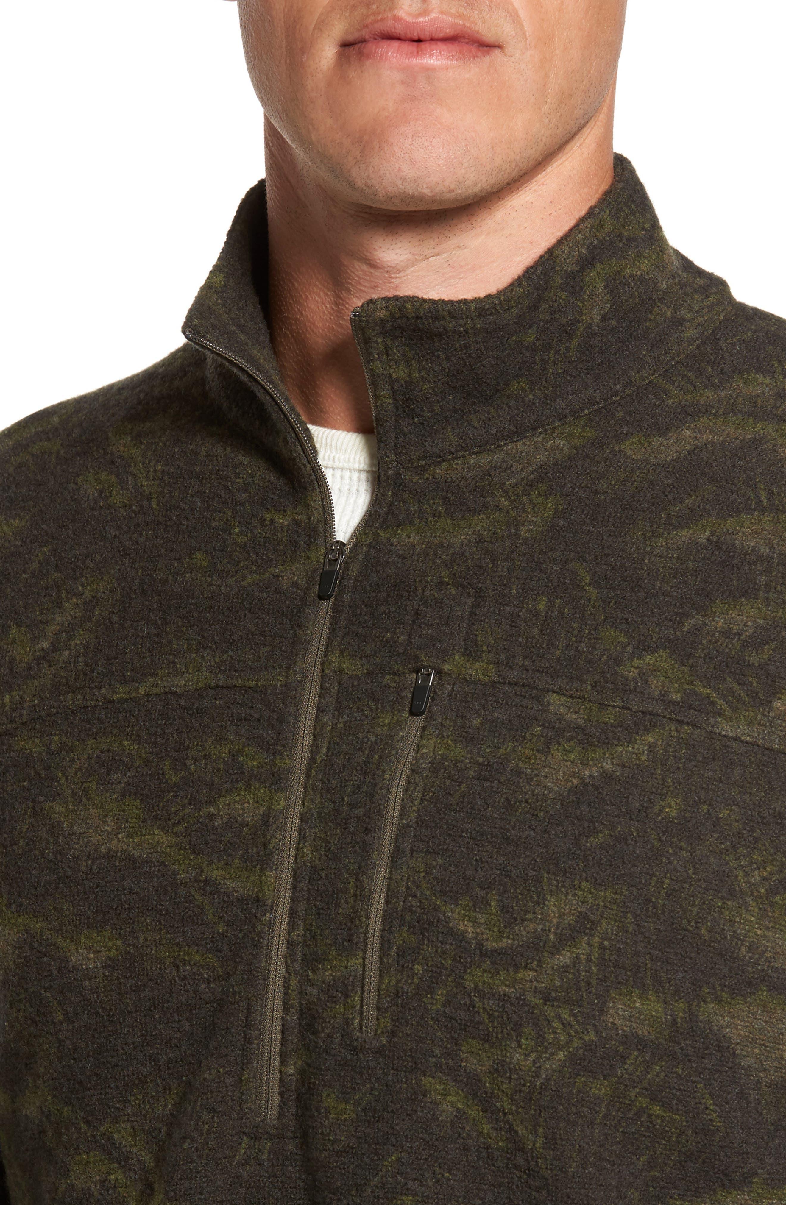 Scout Jura Merino Wool Blend Quarter Zip Pullover,                             Alternate thumbnail 17, color,