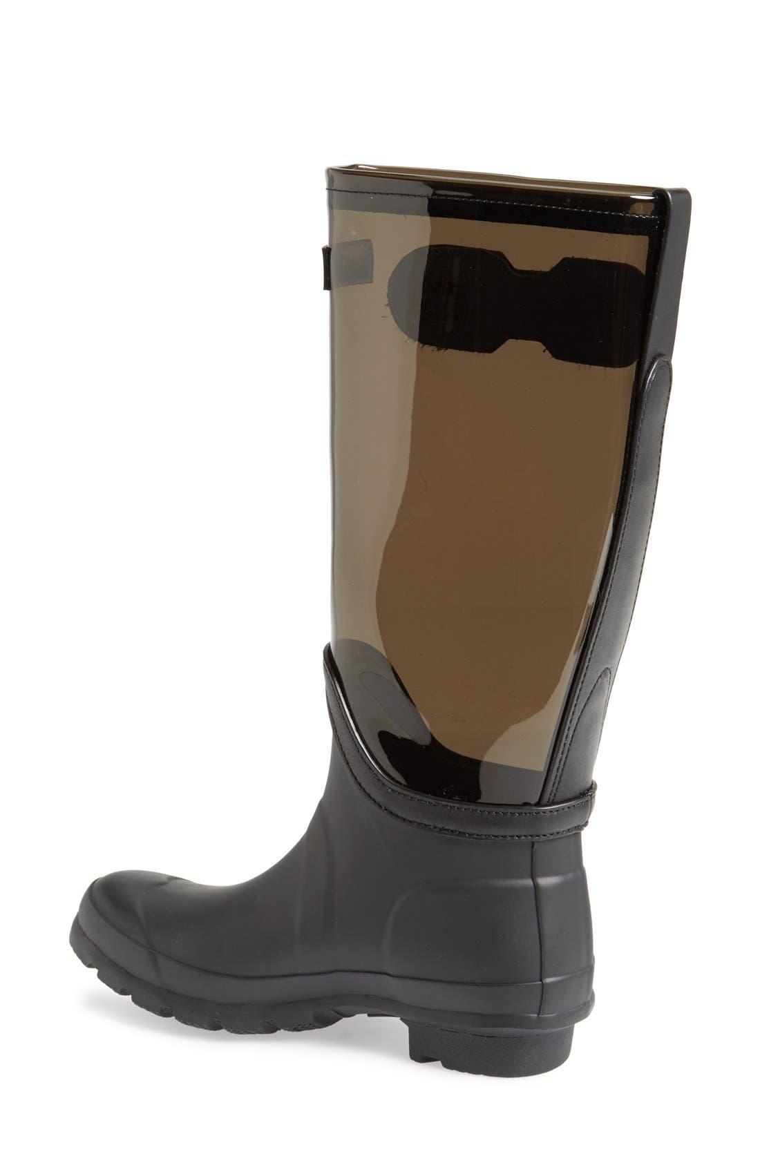 'Original' Clear Waterproof Rain Boot,                             Alternate thumbnail 2, color,                             021