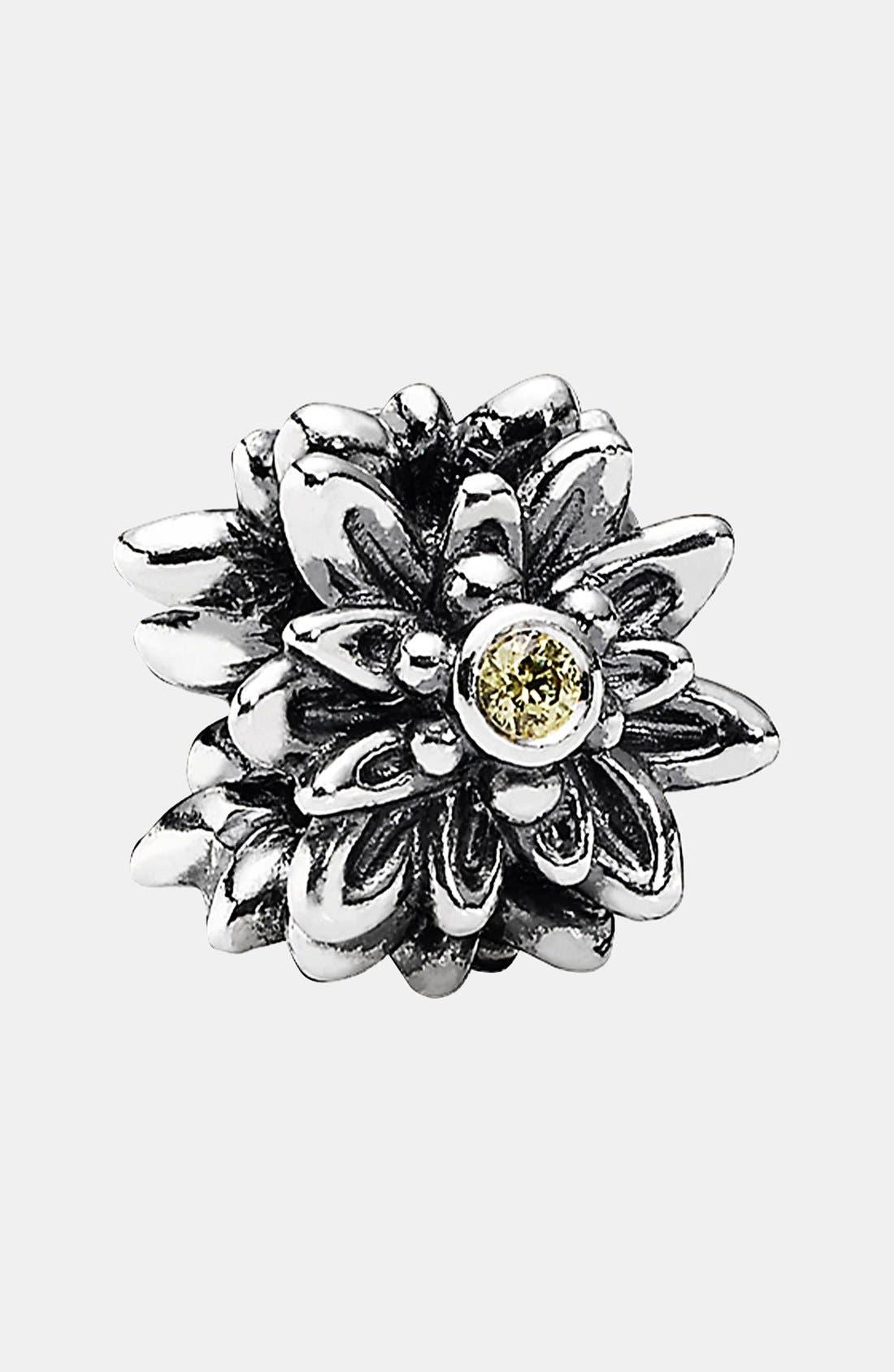 PANDORA,                             Edelweiss Charm,                             Alternate thumbnail 3, color,                             040