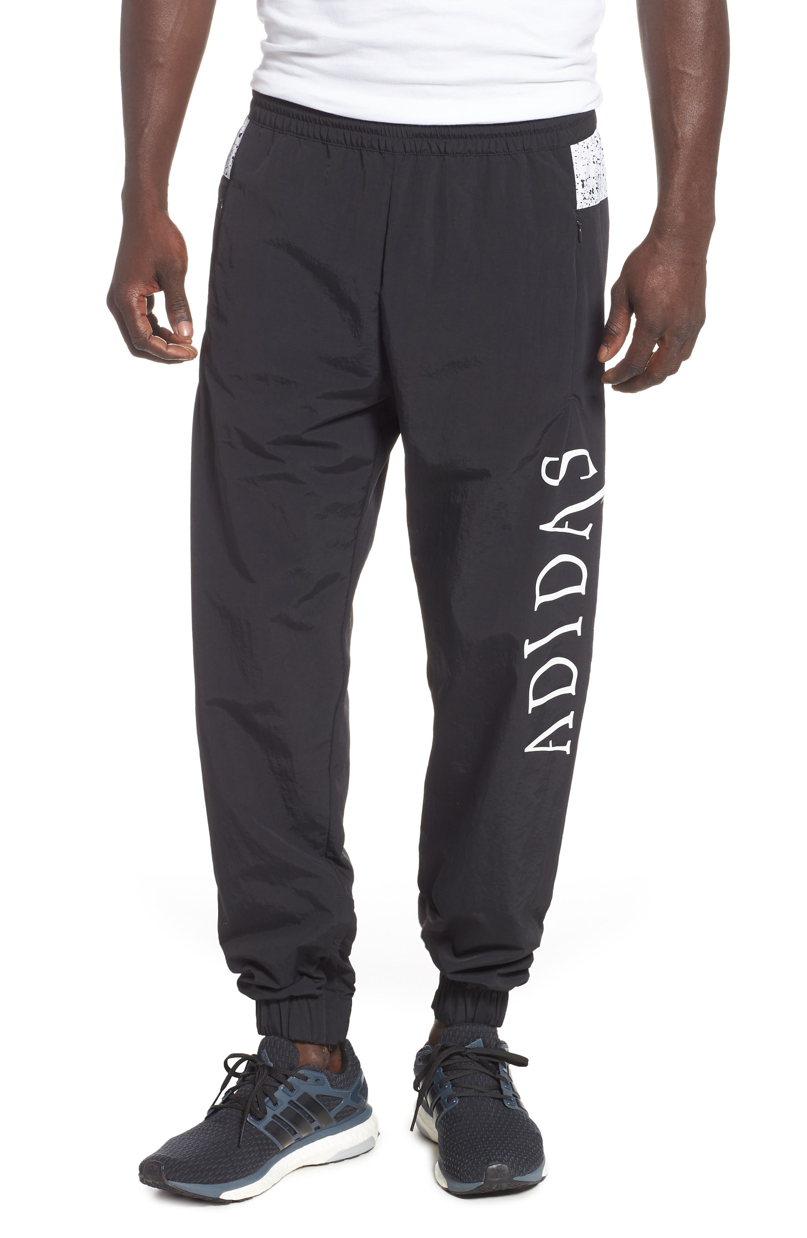 adidas Planetoid Track Pants,                             Main thumbnail 1, color,                             001