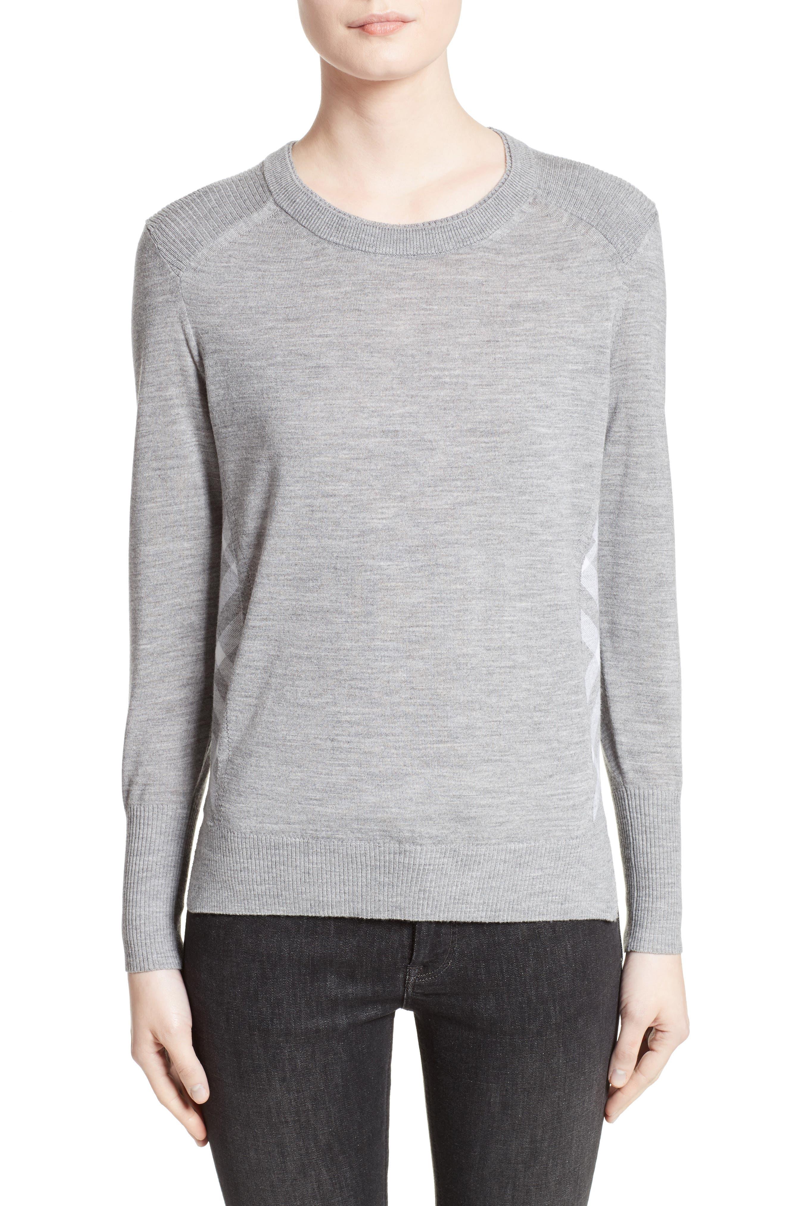 Meigan Merino Wool Sweater,                             Main thumbnail 2, color,
