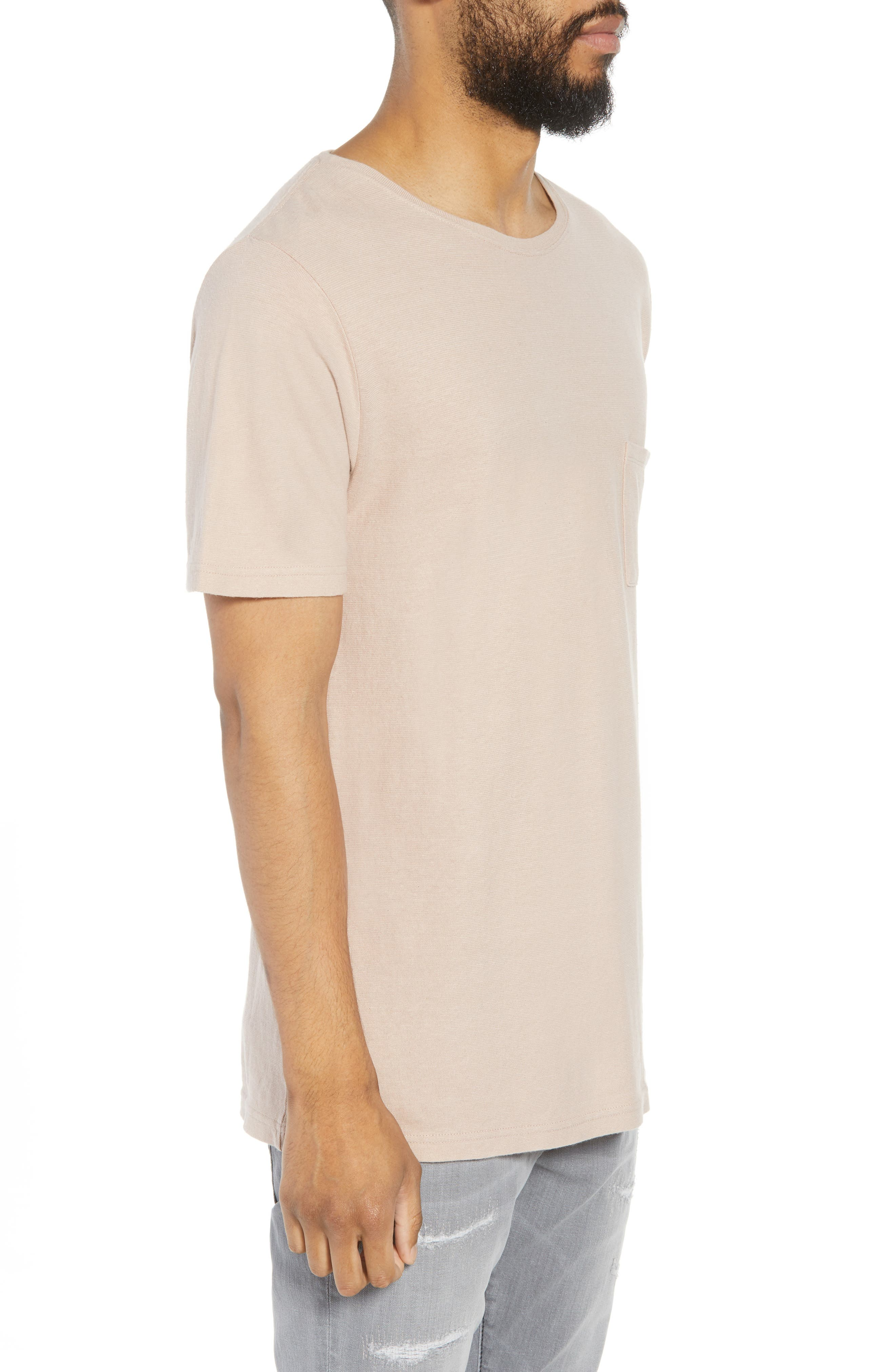 Collett Gauze T-Shirt,                             Alternate thumbnail 3, color,                             250