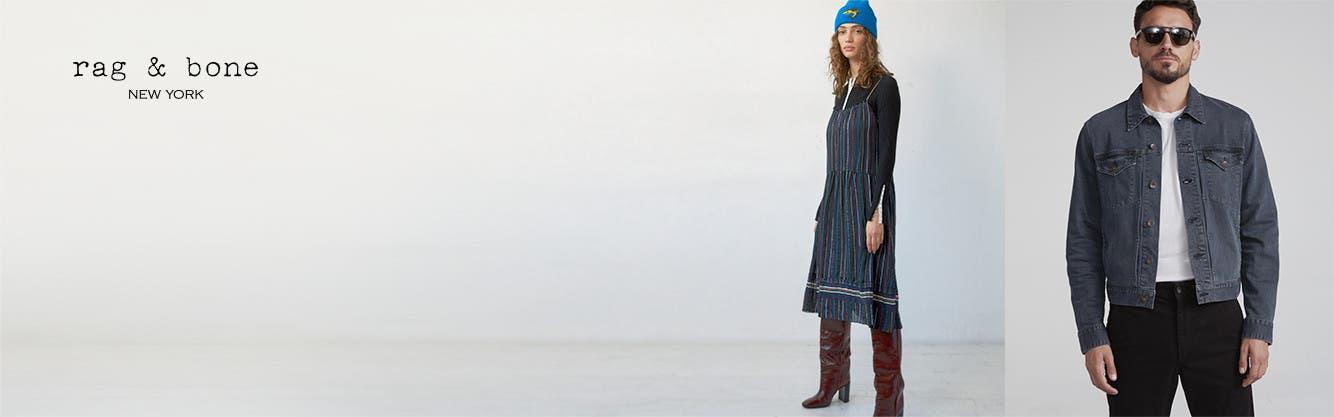 rag & bone clothing for men and women.