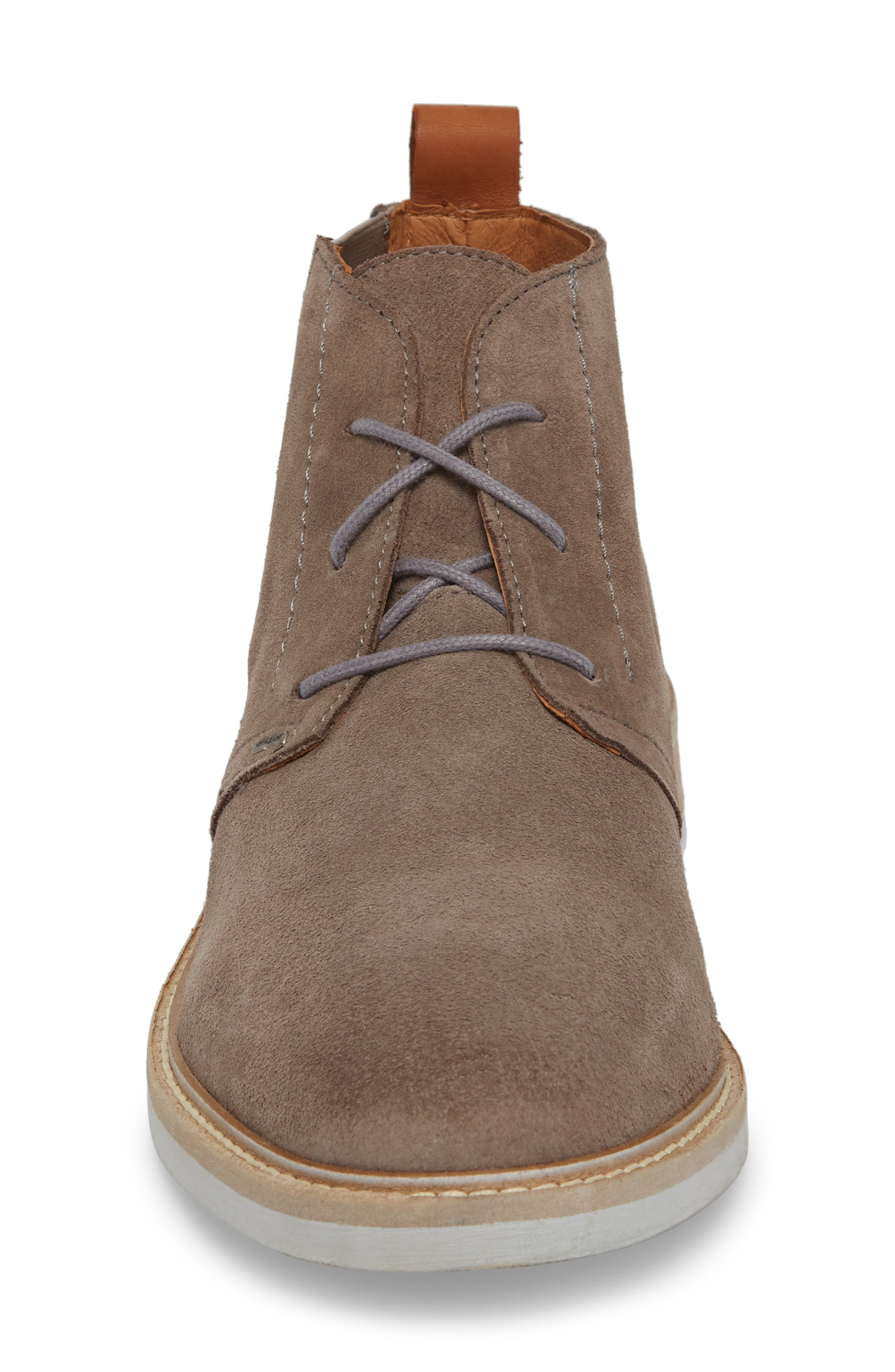 Jameson Water Resistant Chukka Boot,                             Alternate thumbnail 4, color,                             ANTHRACITE