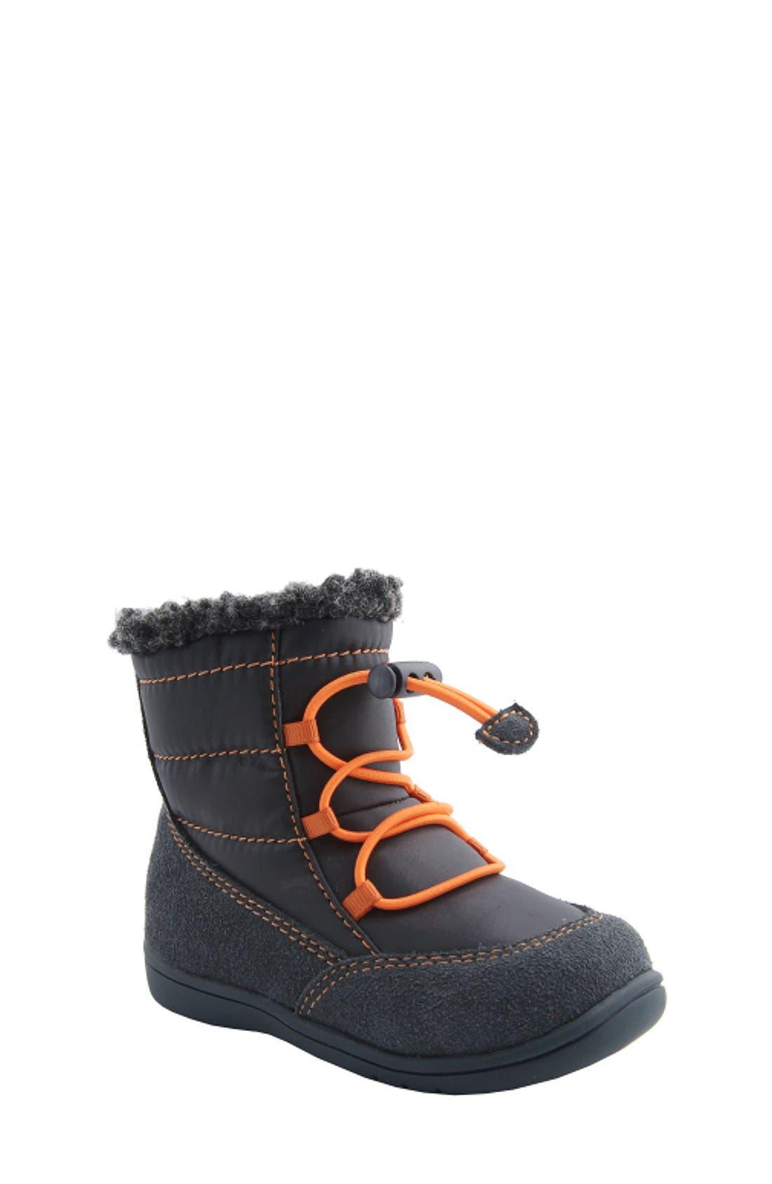 Nina 'Yolie' Lace-Up Boot,                             Main thumbnail 2, color,