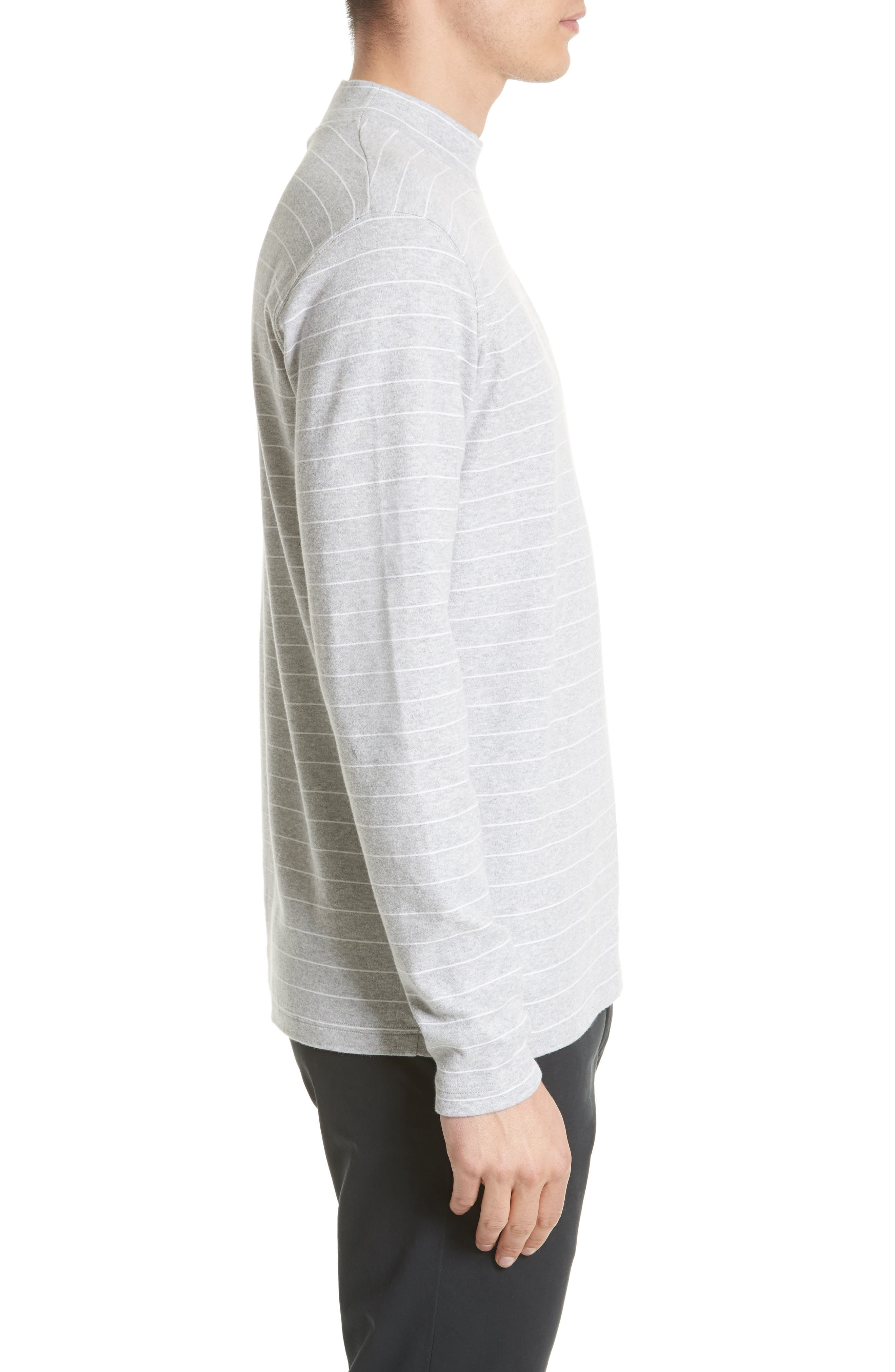 NORSE PROJECTS,                             Harald Mock Neck T-Shirt,                             Alternate thumbnail 3, color,                             050