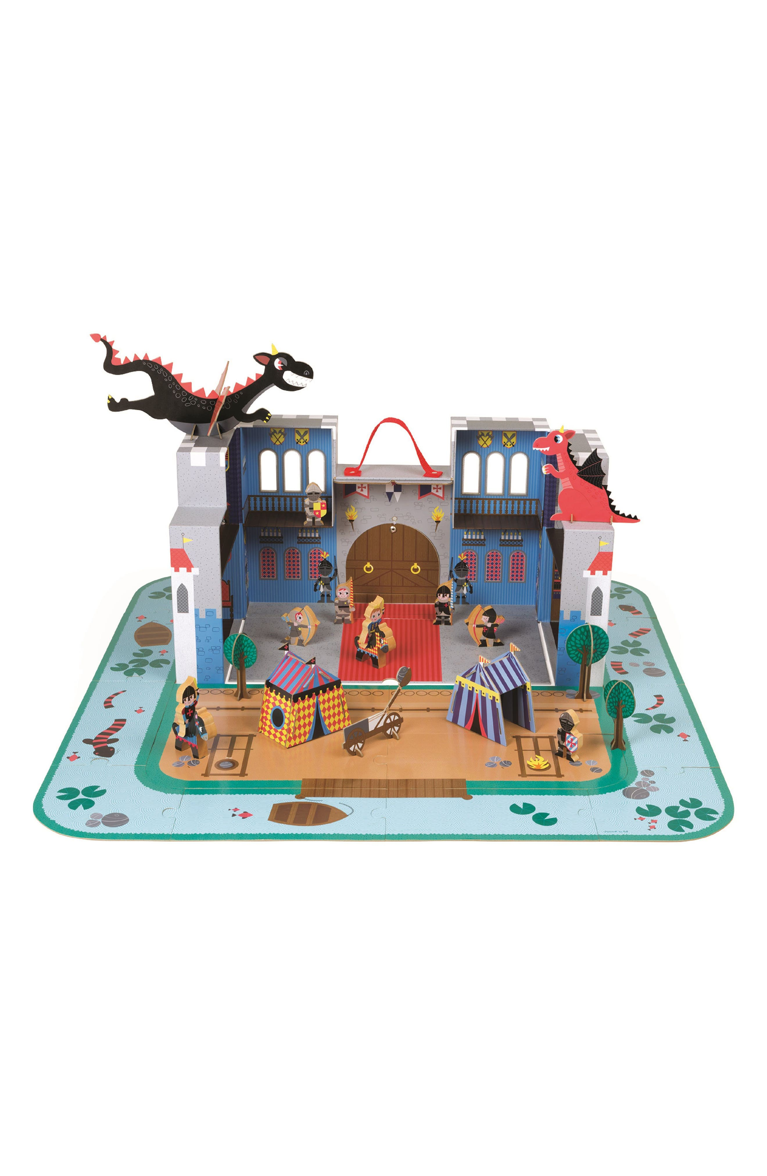 The Fantastic Castle Play Set,                             Main thumbnail 1, color,                             MULTI