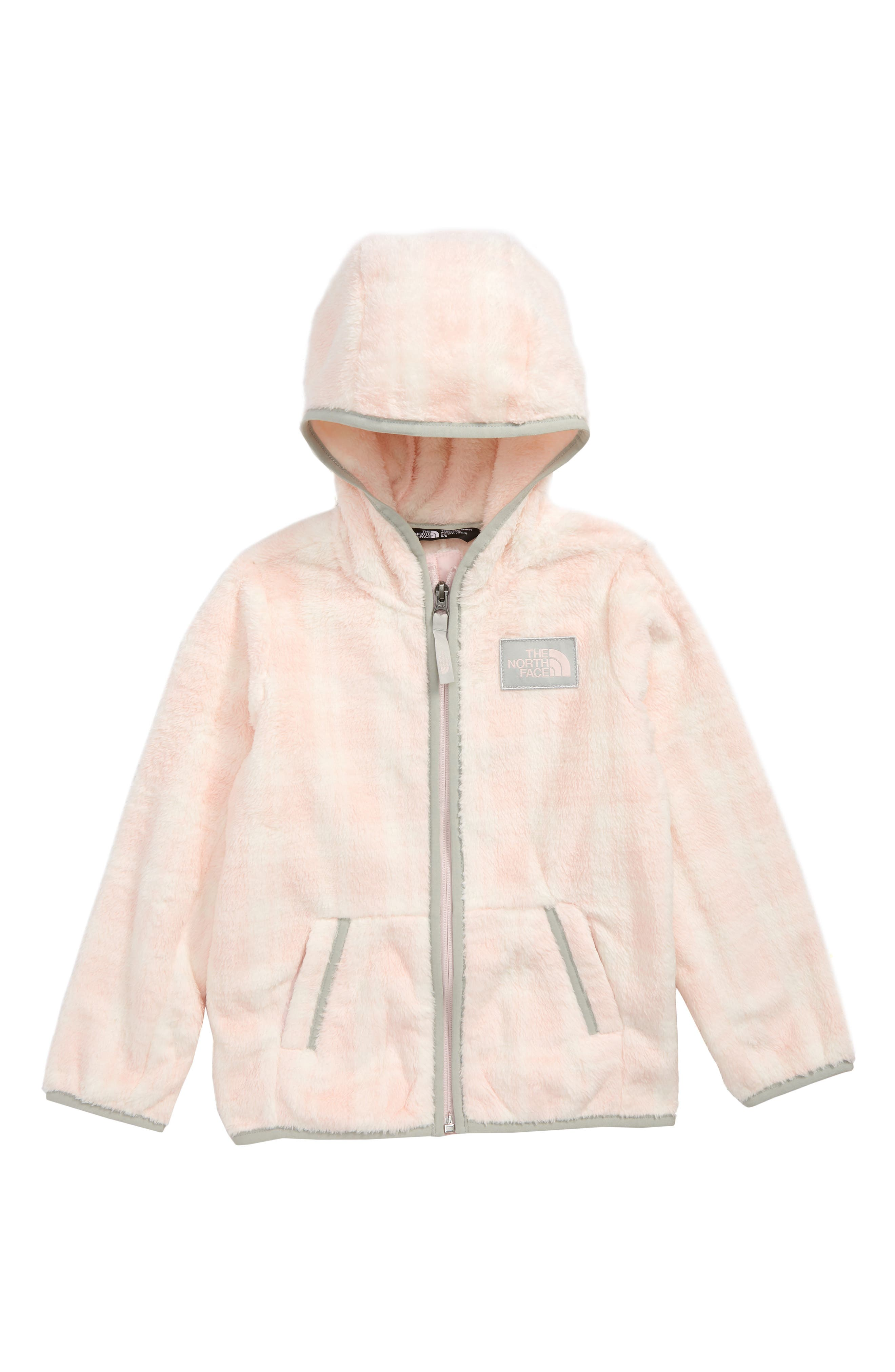 Campshire Full Zip Hoodie,                             Main thumbnail 1, color,                             PURDY PINK PRETTY PLAID PRINT