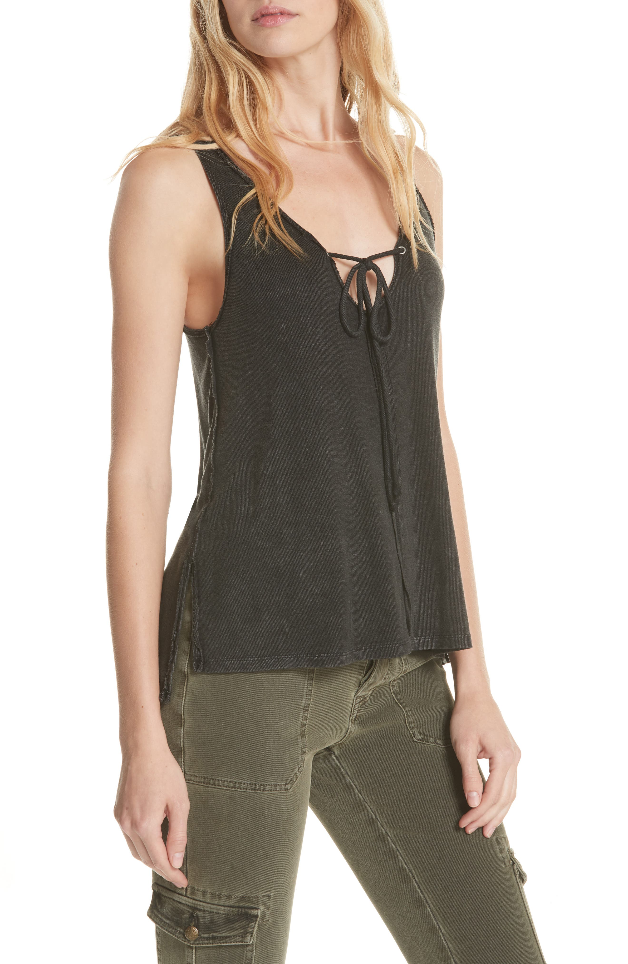 We the Free by Free People Scarlett Tank,                             Main thumbnail 1, color,                             001