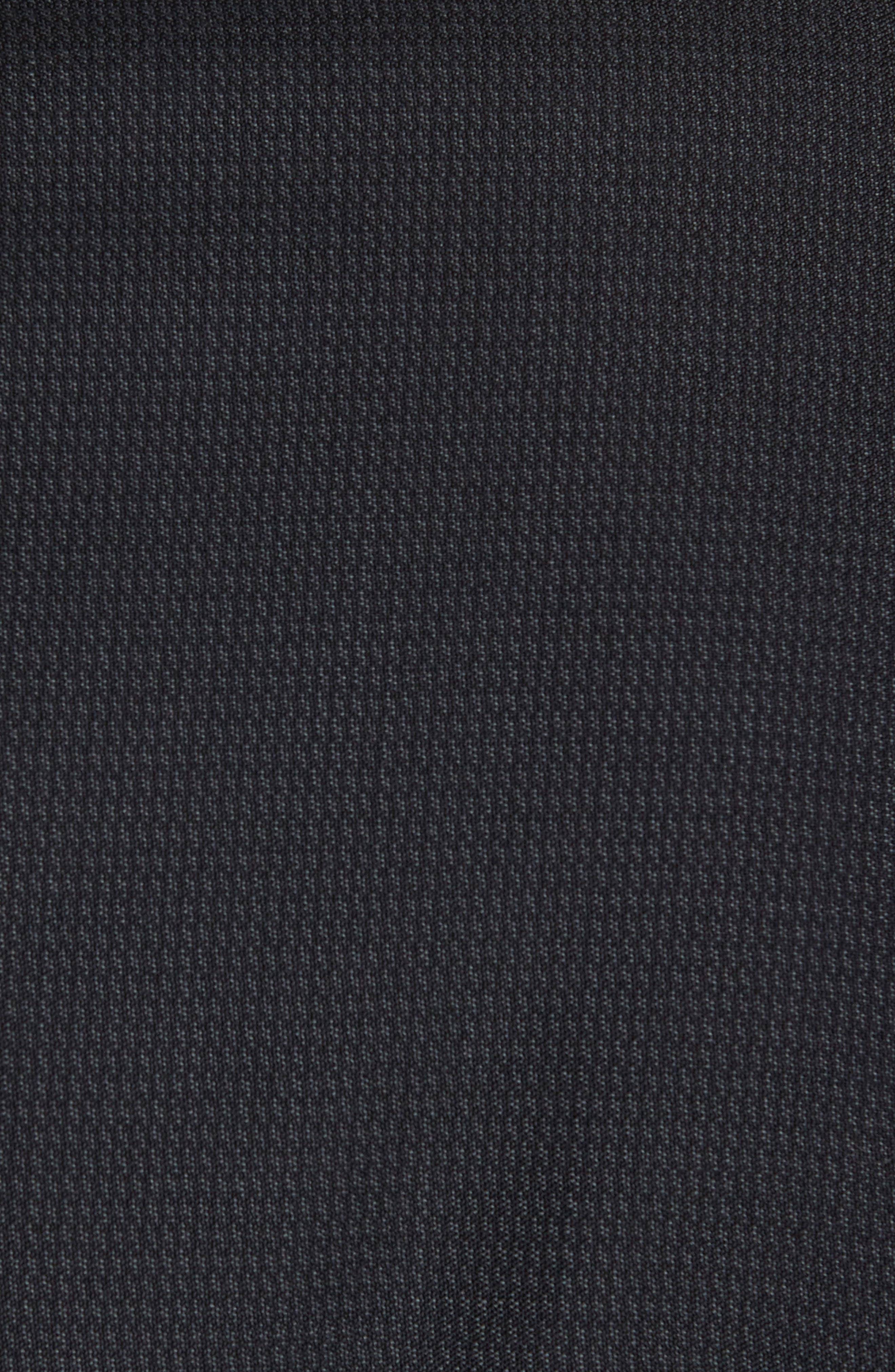 Jay Trim Fit Solid Wool Suit,                             Alternate thumbnail 7, color,                             001