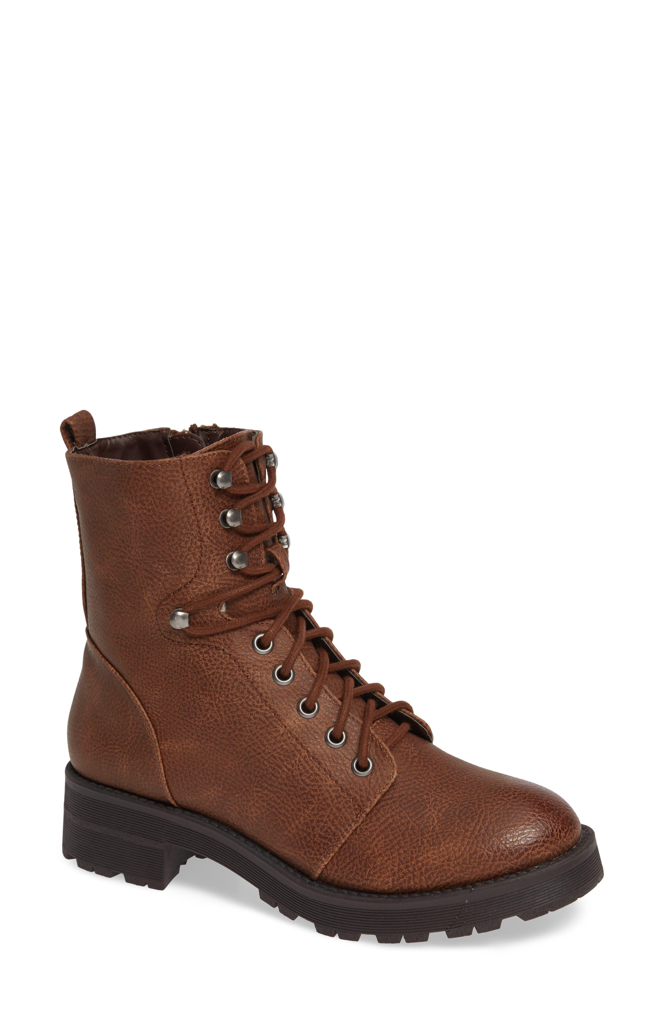 Mia Indigo Boot- Brown