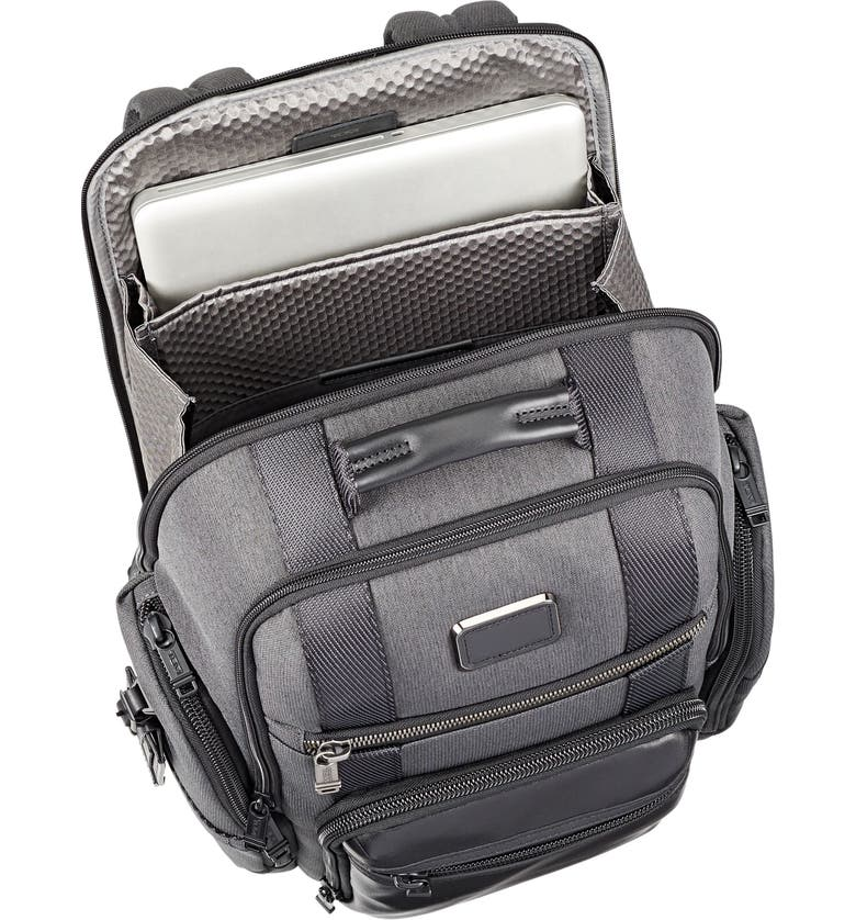 Alpha Bravo - Sheppard Deluxe Backpack, Alternate, color, ANTHRACITE