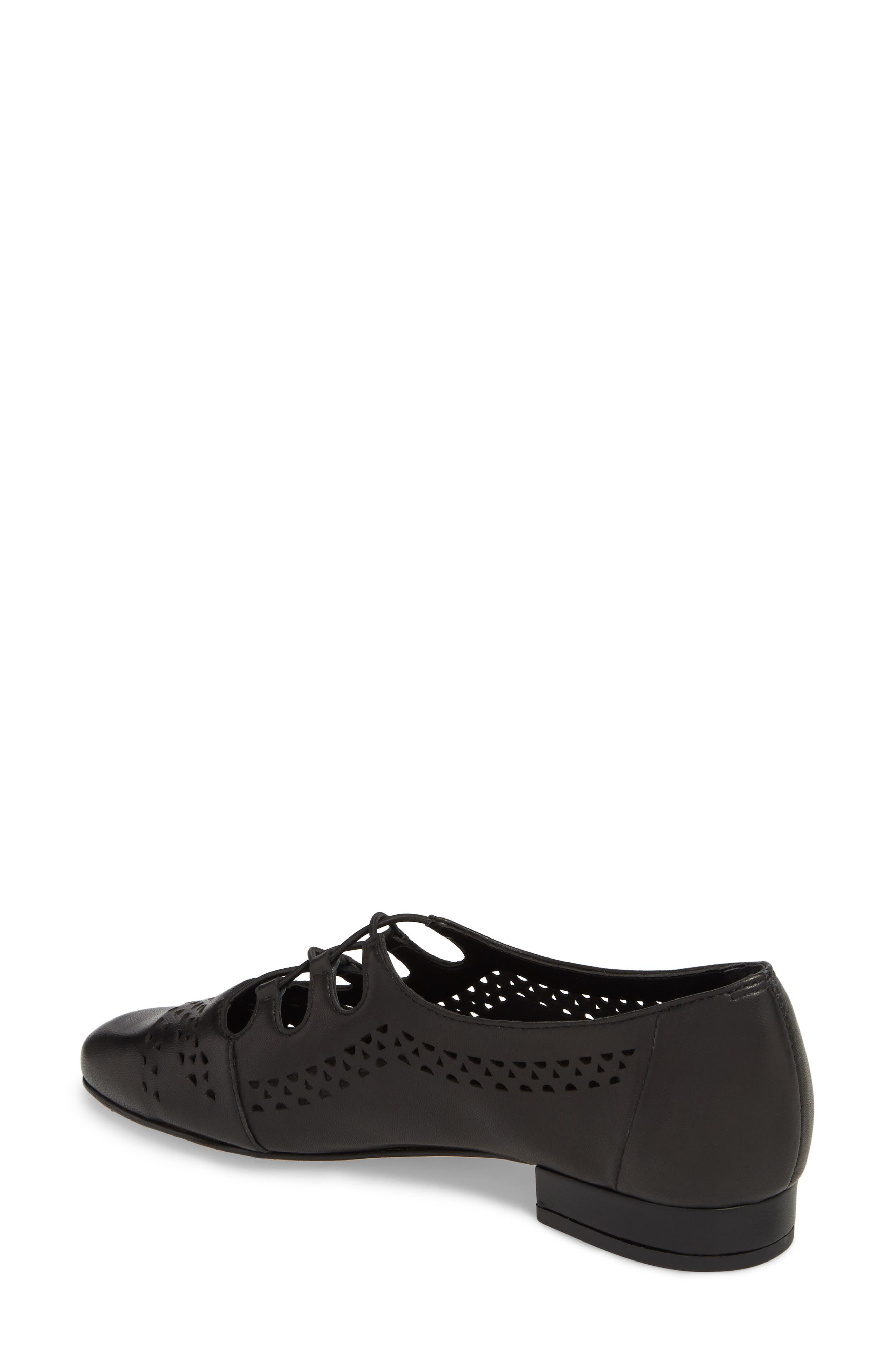Fabra Perforated Oxford Slip-On,                             Alternate thumbnail 4, color,