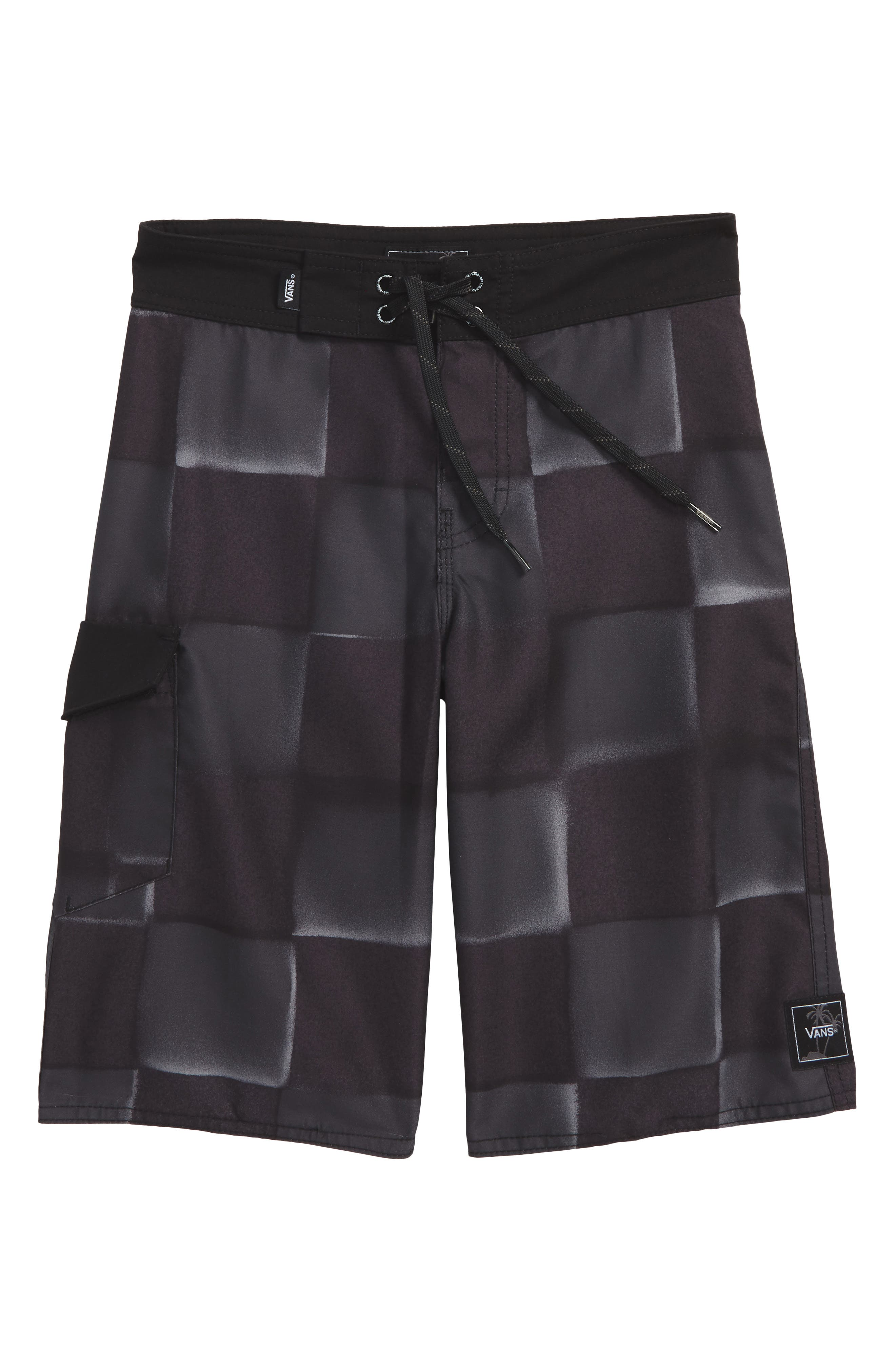 Check Yourself II Board Shorts,                         Main,                         color, 001