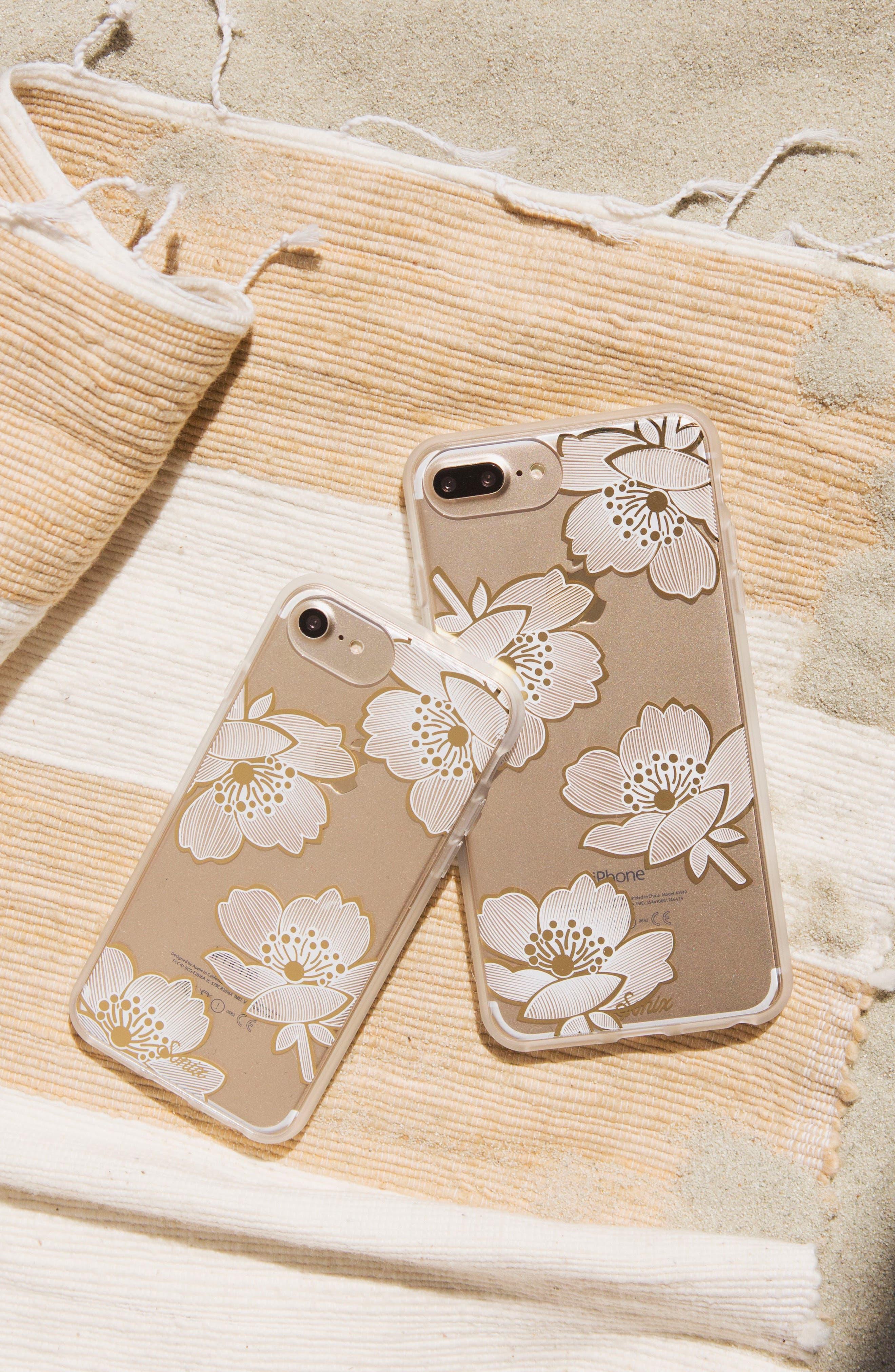 Bellflower iPhone 6/6s/7/8 & 6/6s/7/8 Plus Case,                             Alternate thumbnail 3, color,                             GOLD