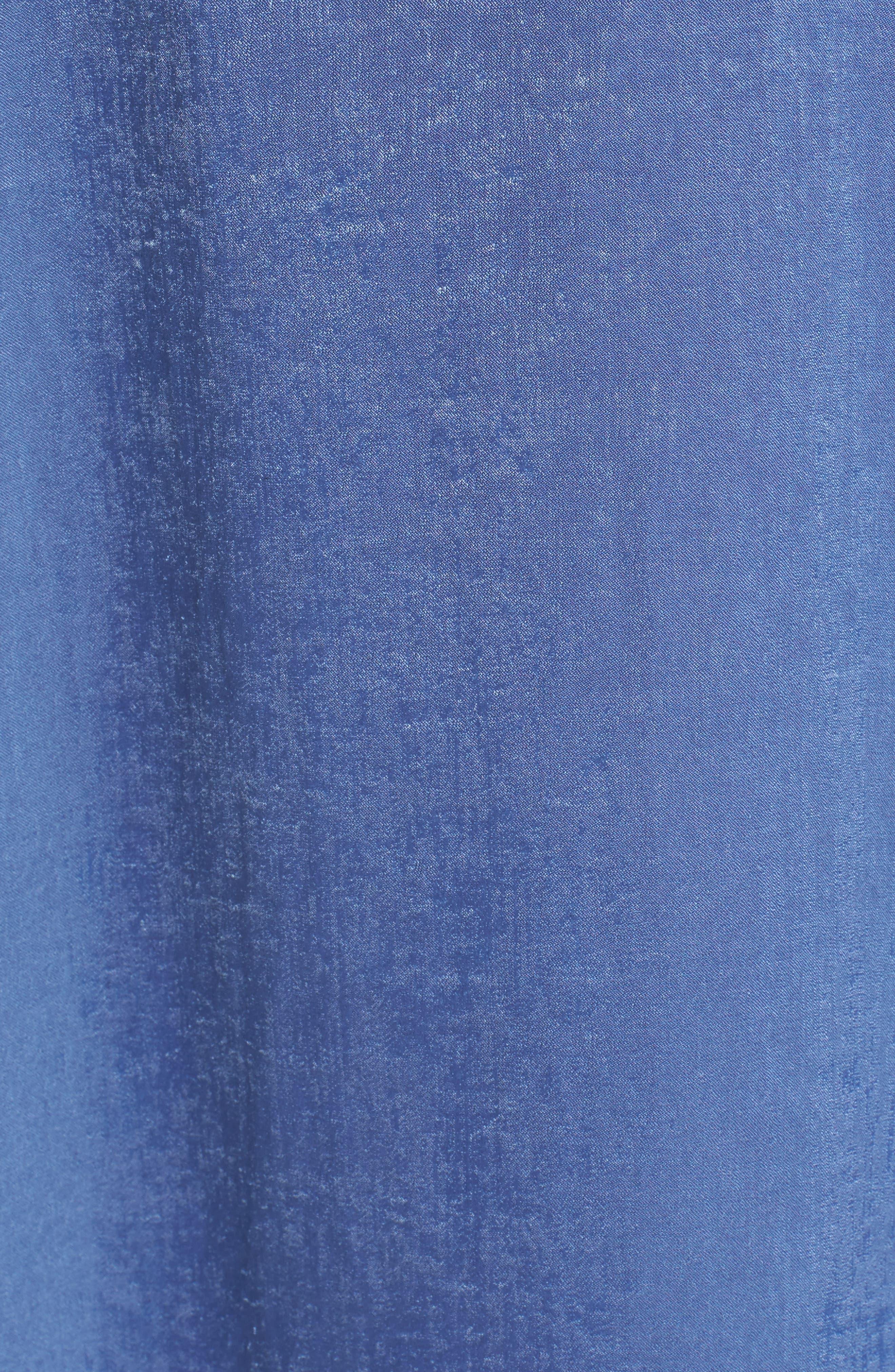 Lace-Up Shift Dress,                             Alternate thumbnail 5, color,