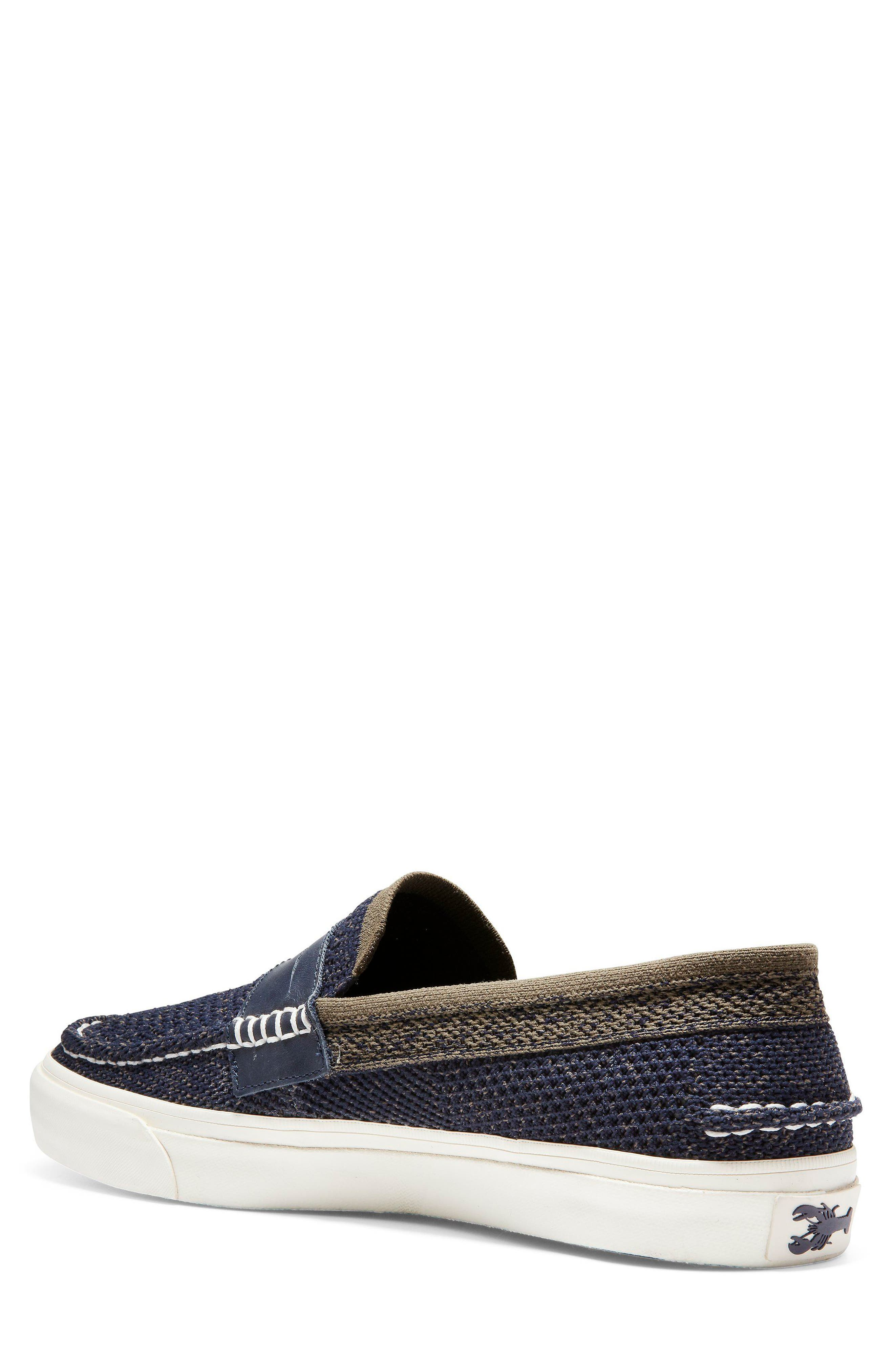 Pinch Stitch LX Stitchlite<sup>™</sup> Penny Loafer,                             Alternate thumbnail 2, color,                             NAVY/ MOREL
