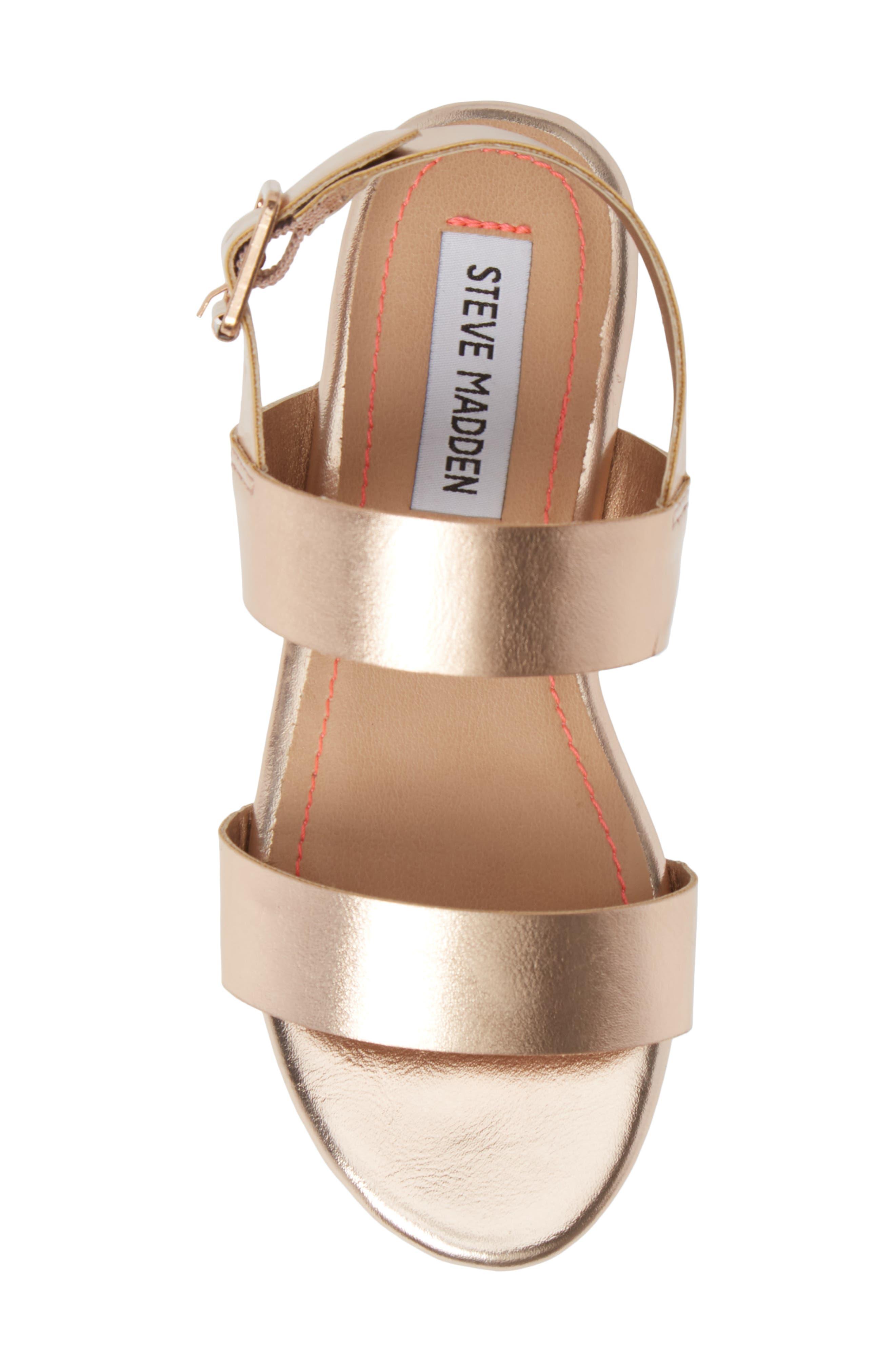 JKylie Platform Sandal,                             Alternate thumbnail 5, color,                             ROSE GOLD