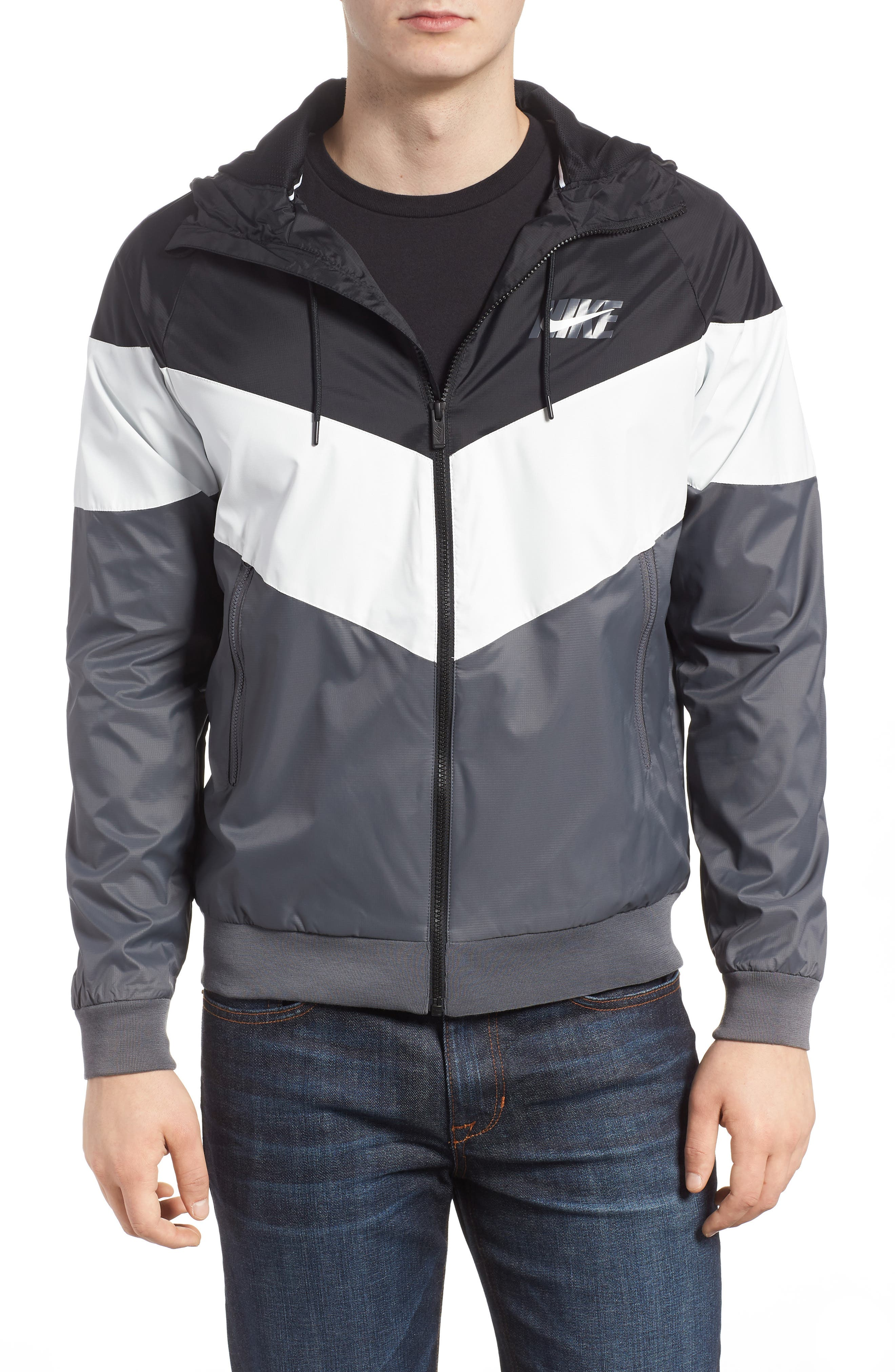 Windrunner Wind & Water Repellent Hooded Jacket by Nike