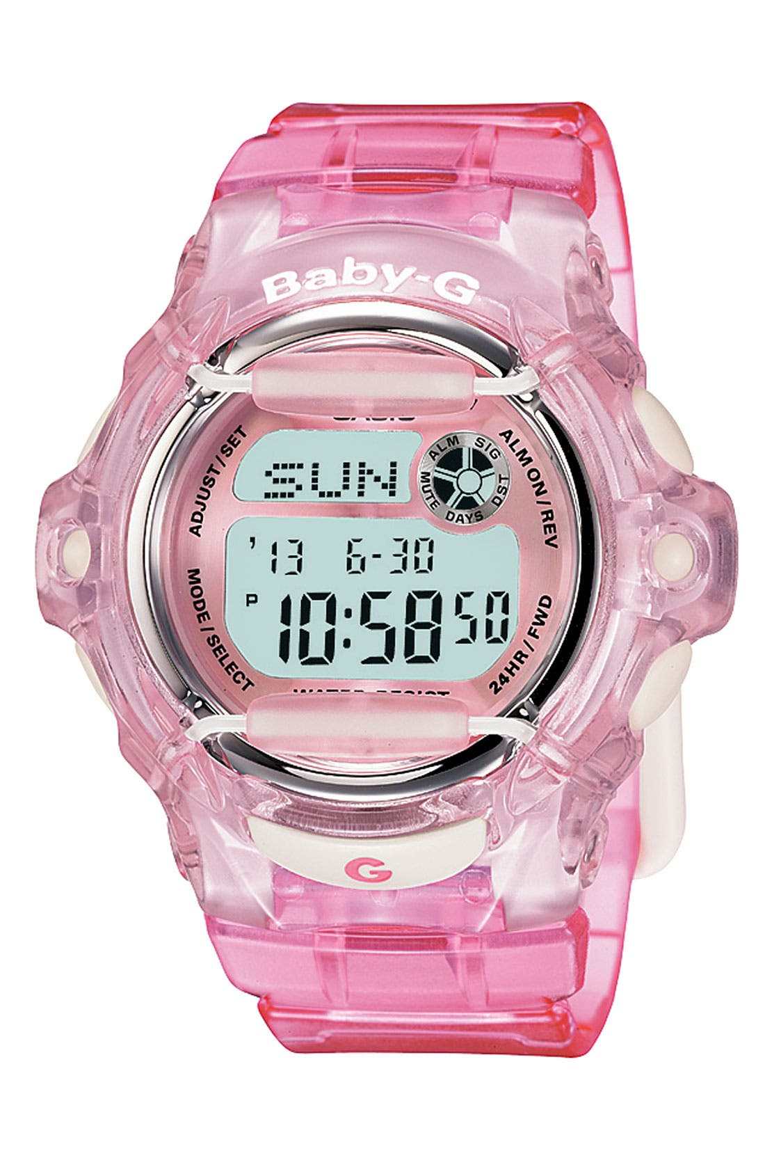 Baby-G Jelly Watch, 46mm,                             Main thumbnail 4, color,