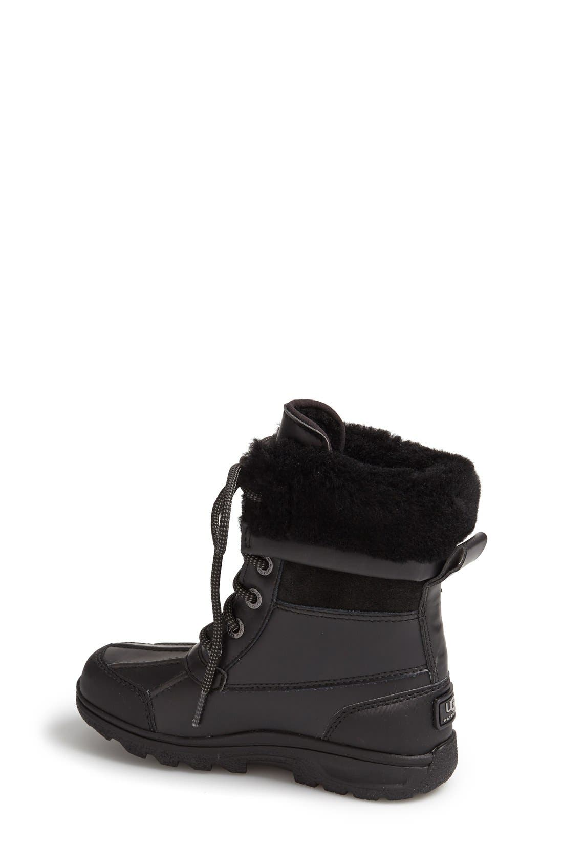 'Butte II' Waterproof Leather Boot,                             Alternate thumbnail 12, color,